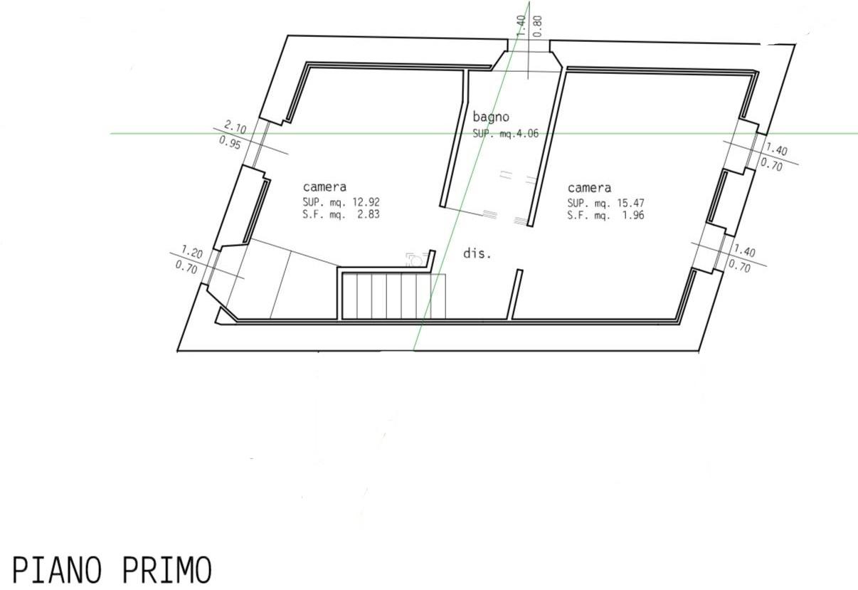 Planimetria 1/2 per rif. 837