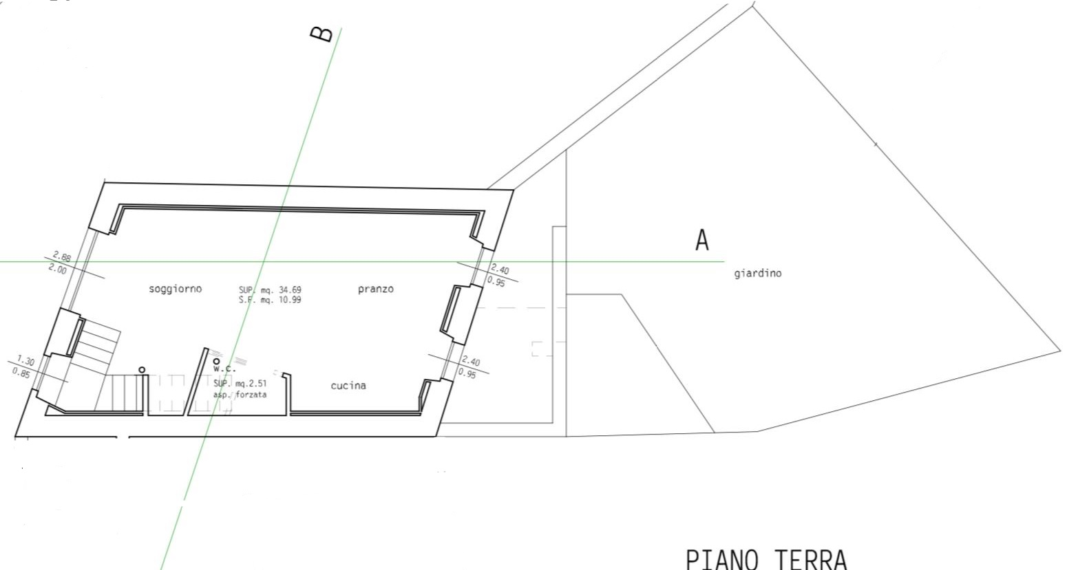 Planimetria 2/2 per rif. 837