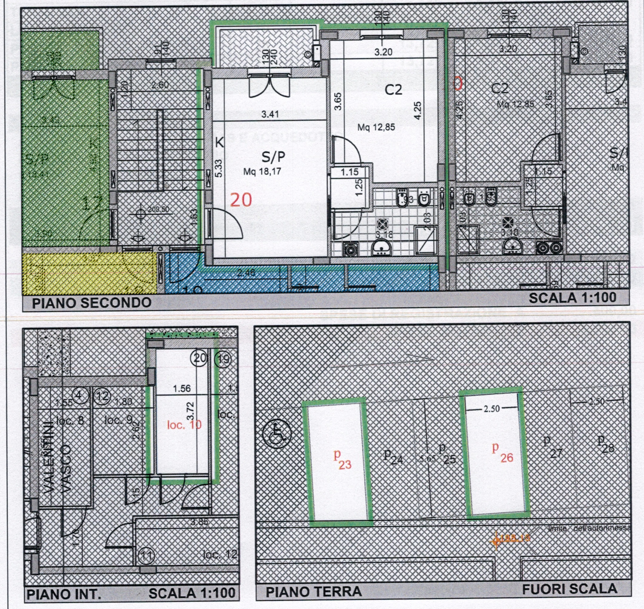 Plan 3/4 for ref. 839