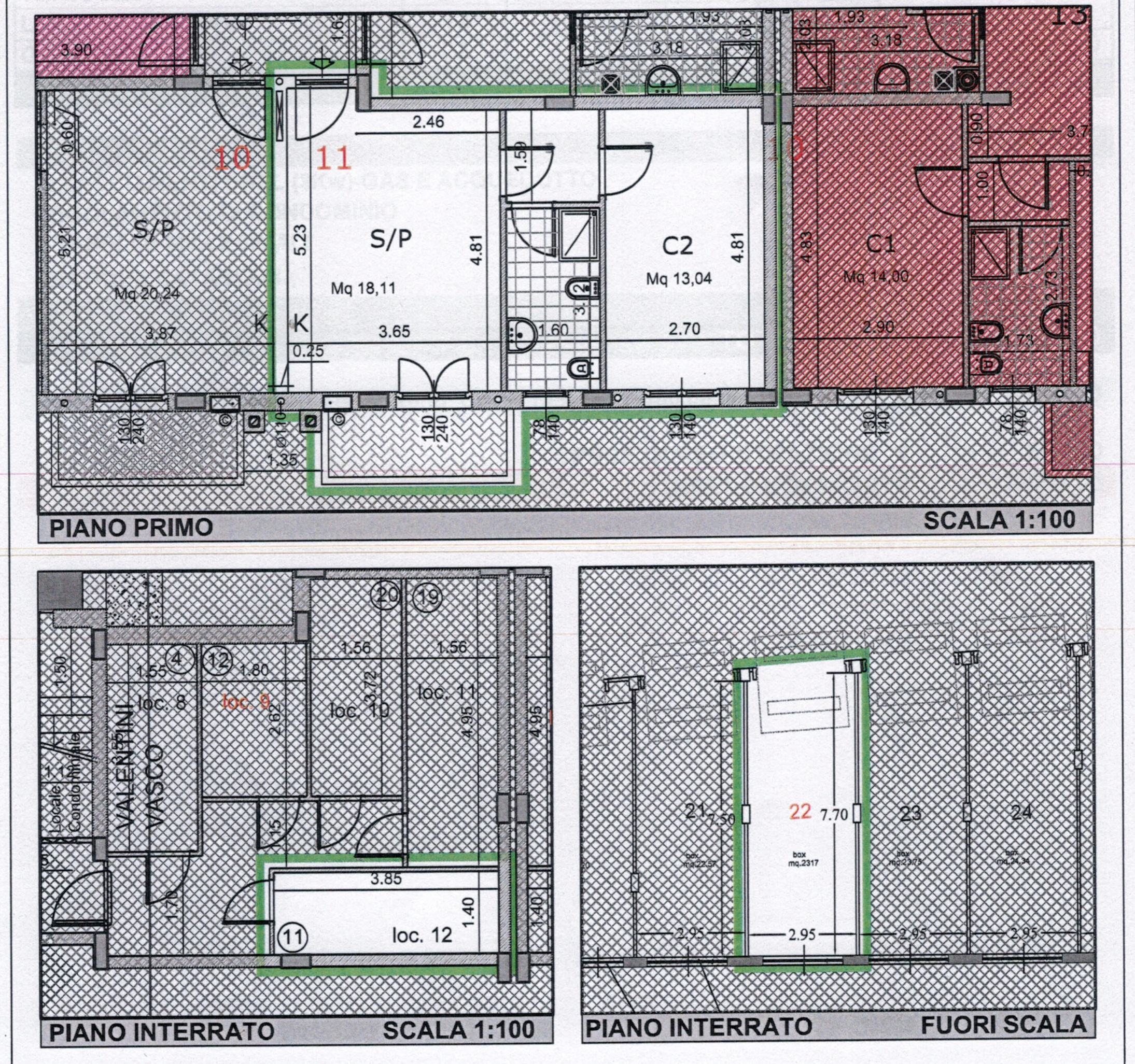 Plan 1/4 for ref. 839
