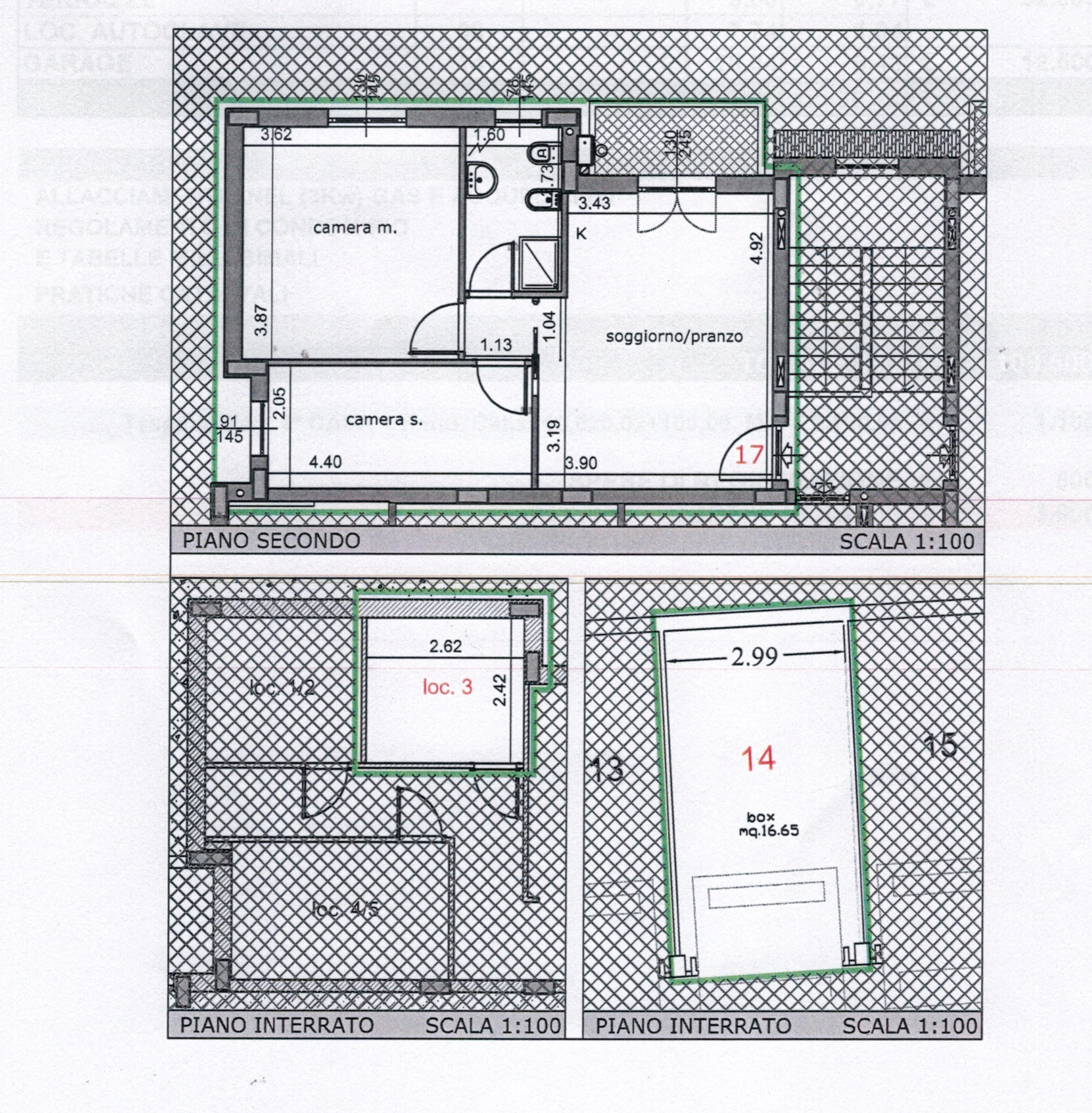 Plan 3/4 for ref. 842