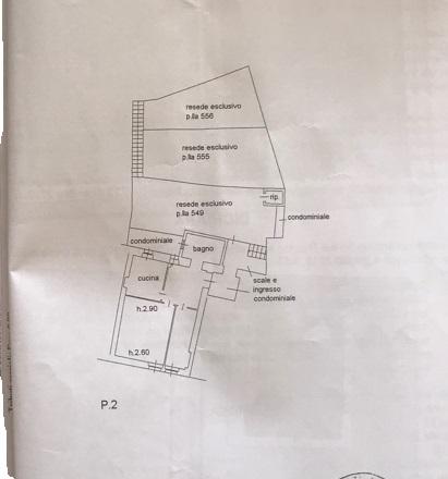 Planimetria 1/1 per rif. 847