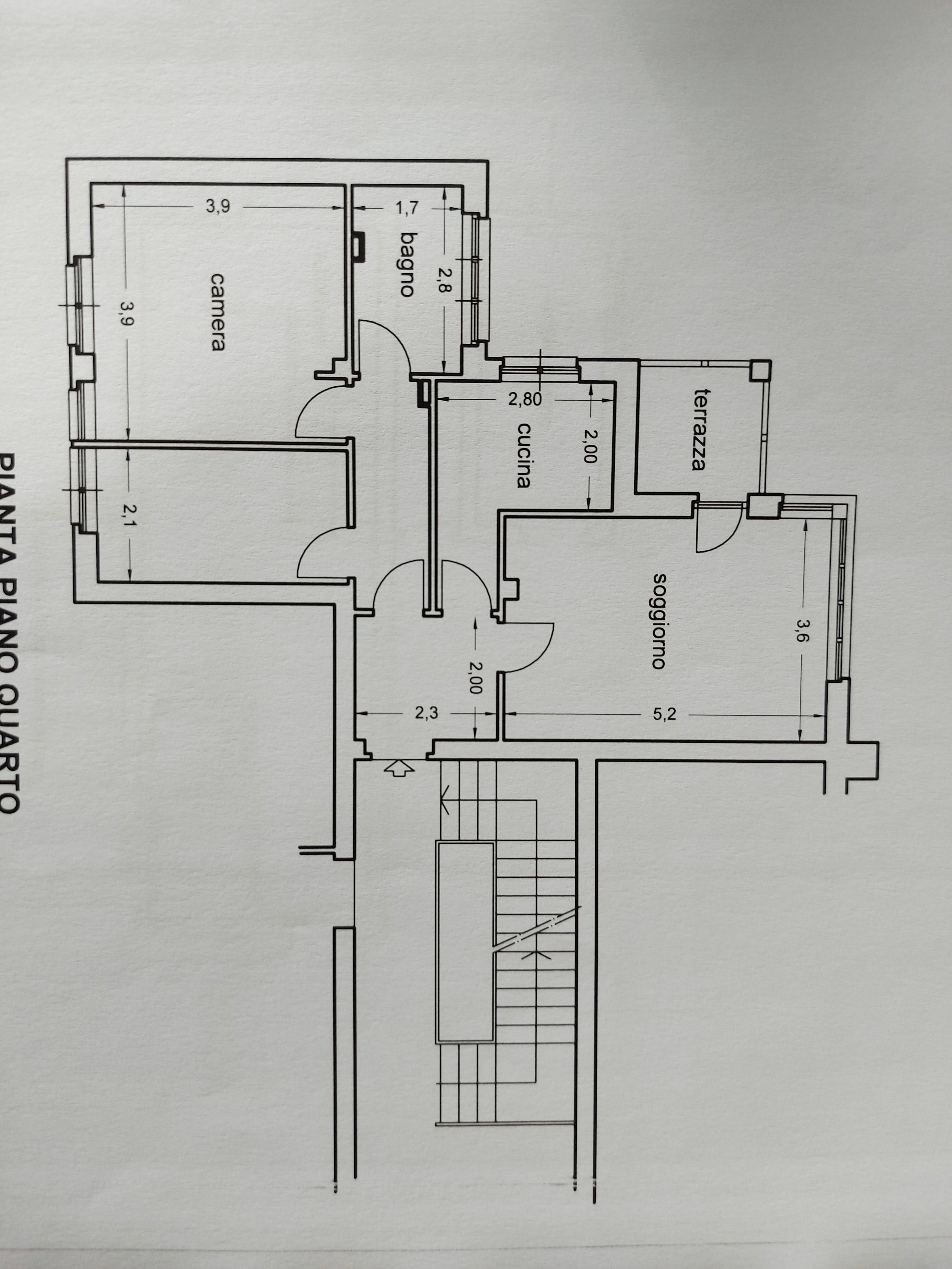 Planimetria 1/2 per rif. 848