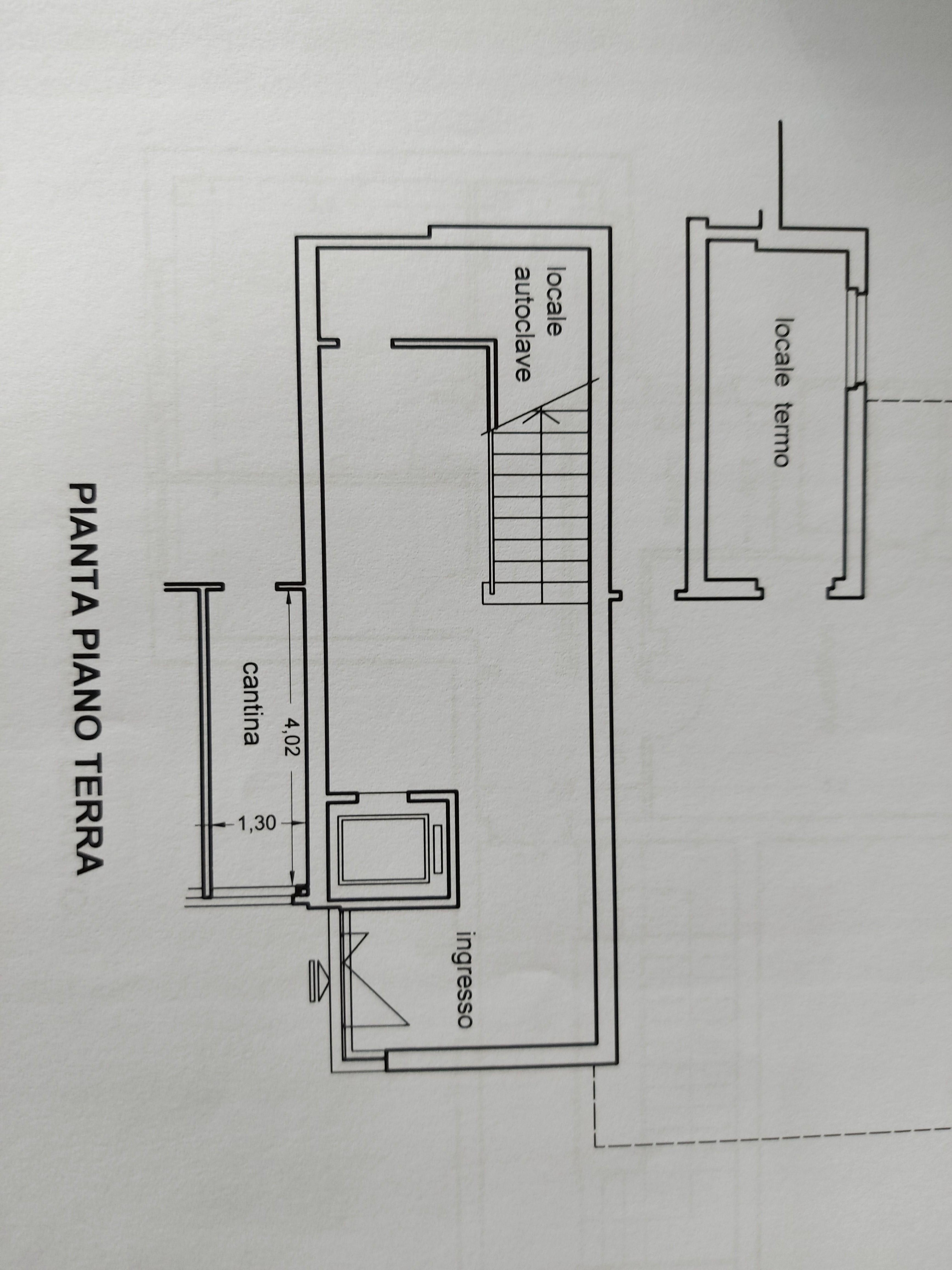 Planimetria 2/2 per rif. 848