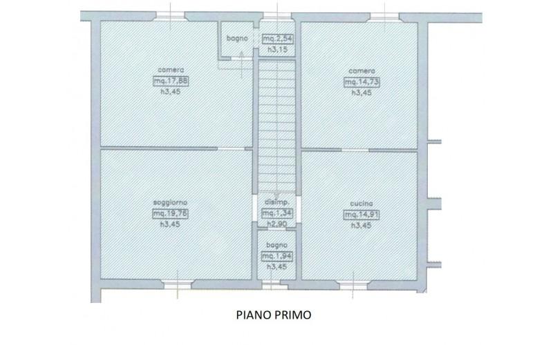 Appartamento in vendita, rif. 852 (Planimetria 1/1)