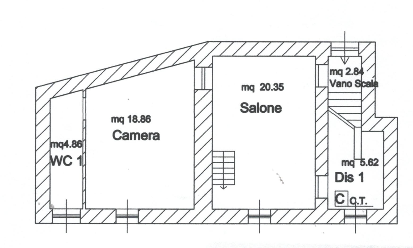 Planimetria 2/2 per rif. 853