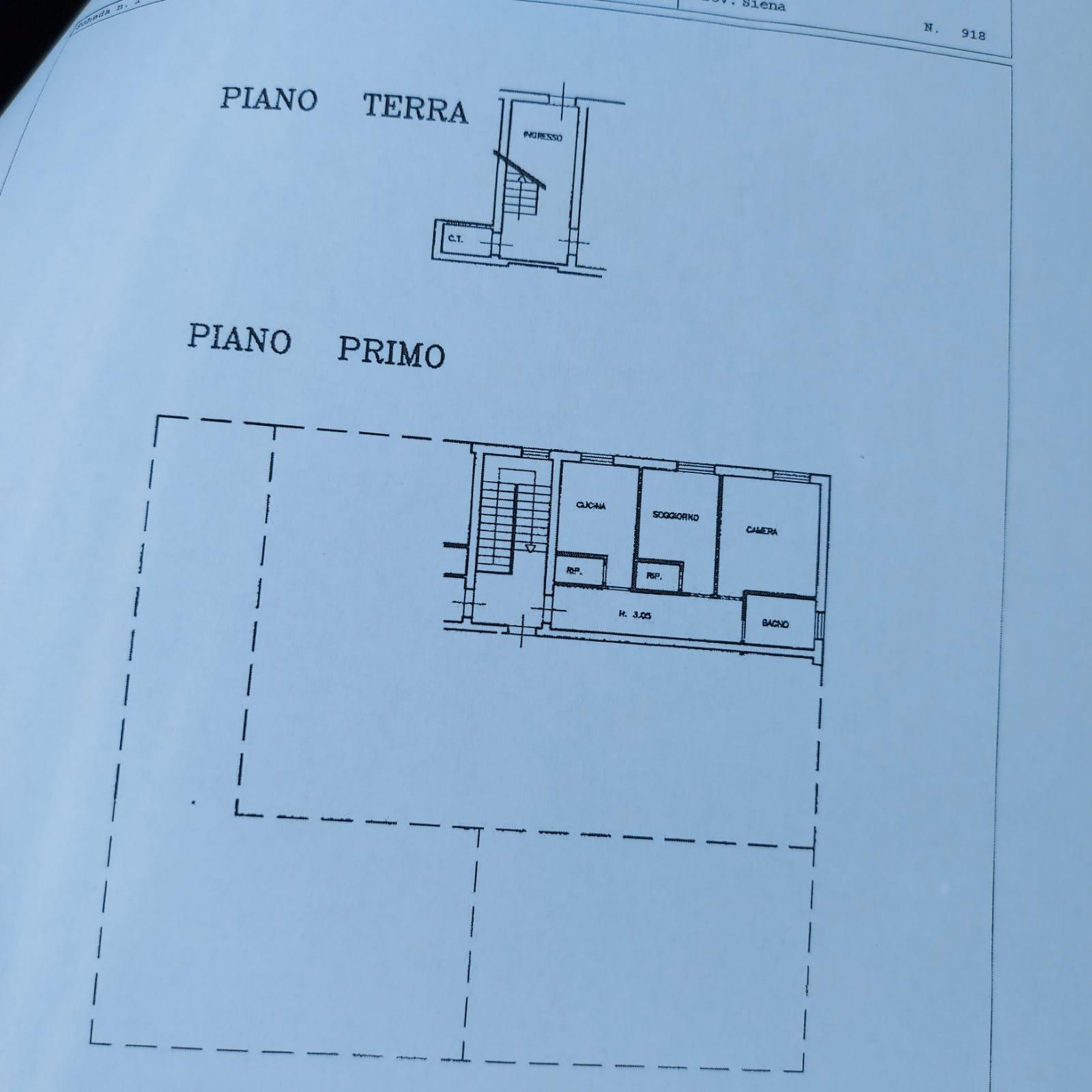 Appartamento in vendita, rif. 864 (Planimetria 1/1)