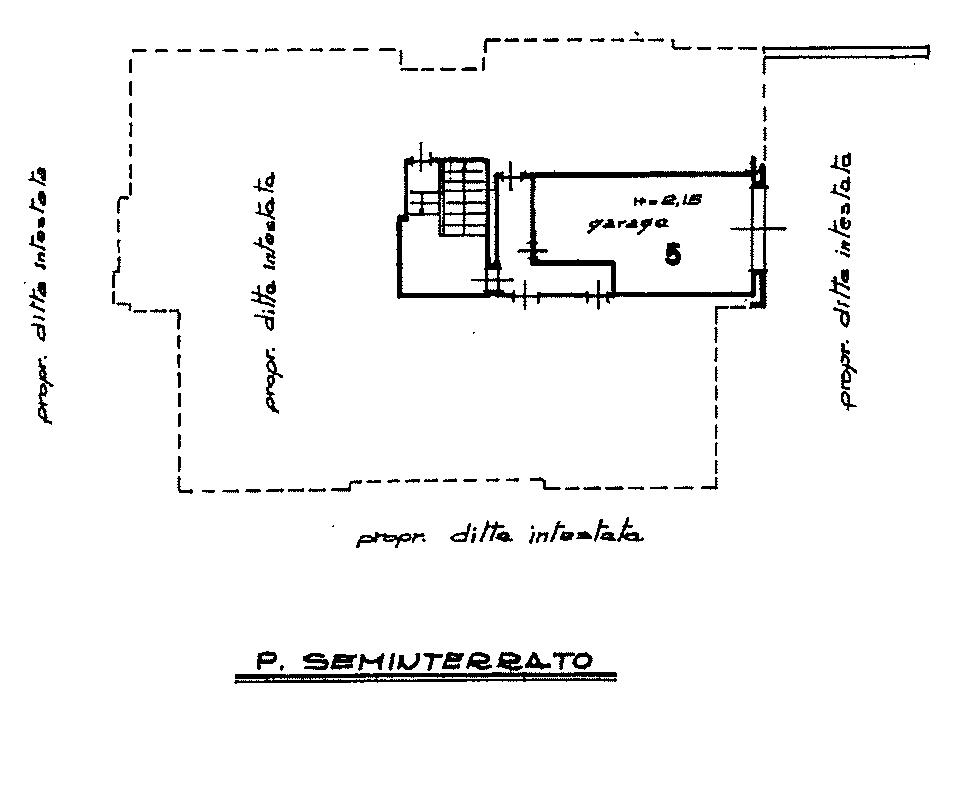 Planimetria 2/3 per rif. 872