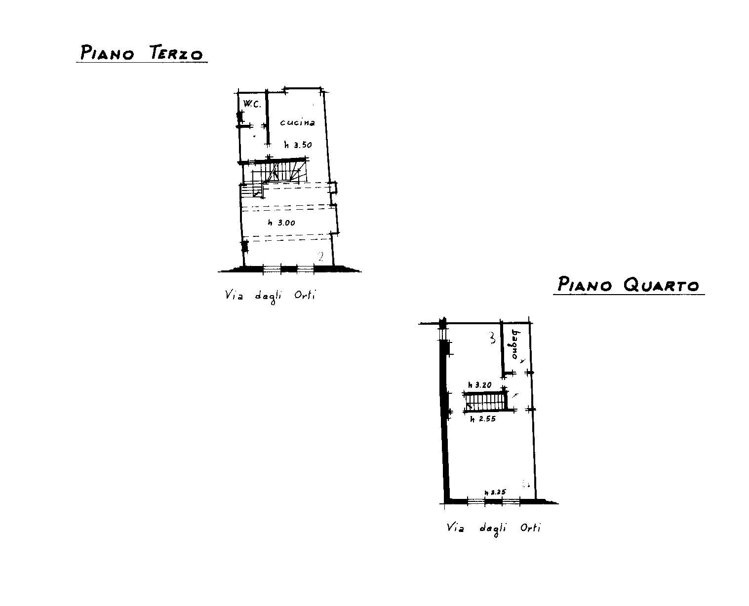 Planimetria 2/2 per rif. 878