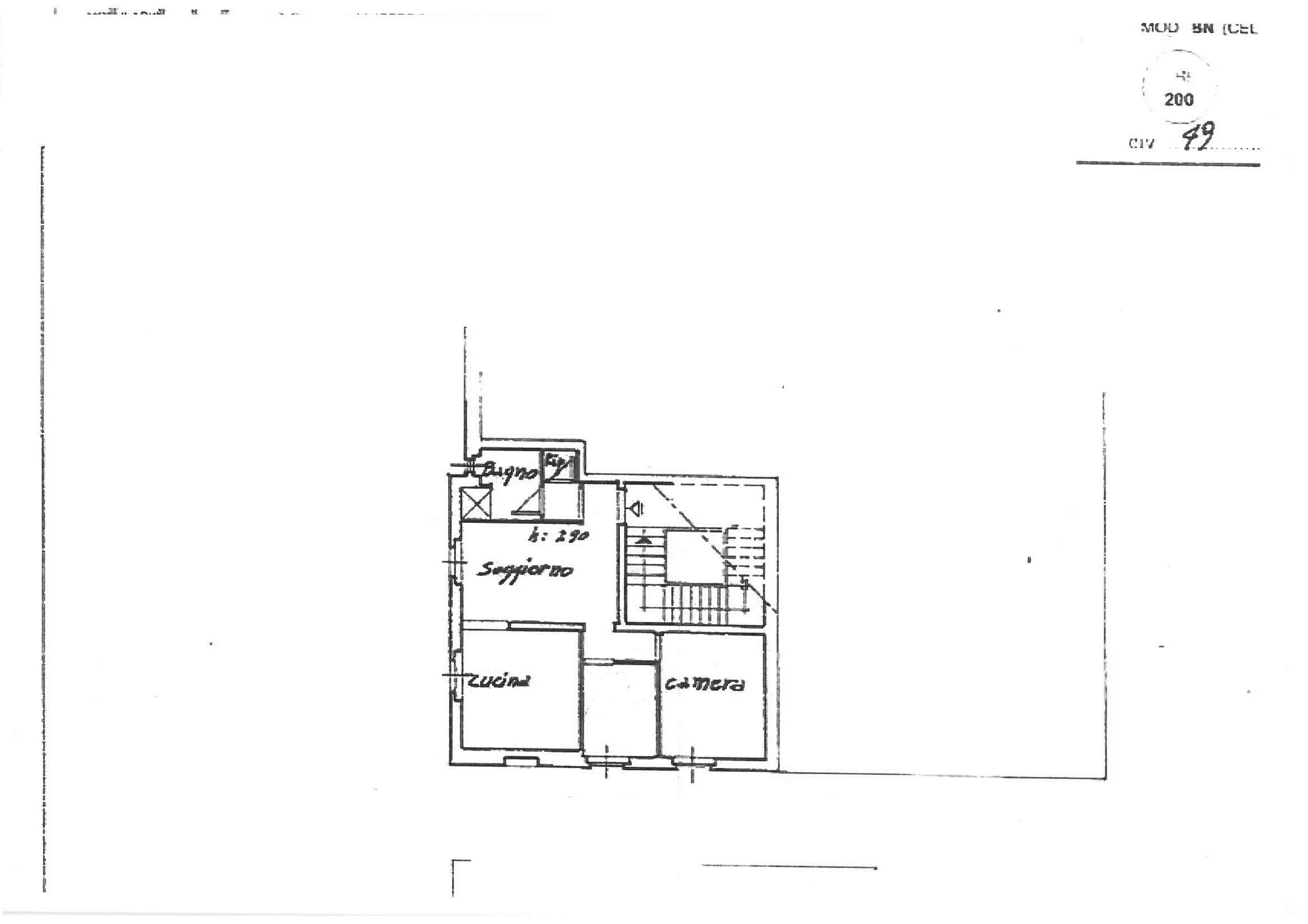 Planimetria 1/1 per rif. A000506