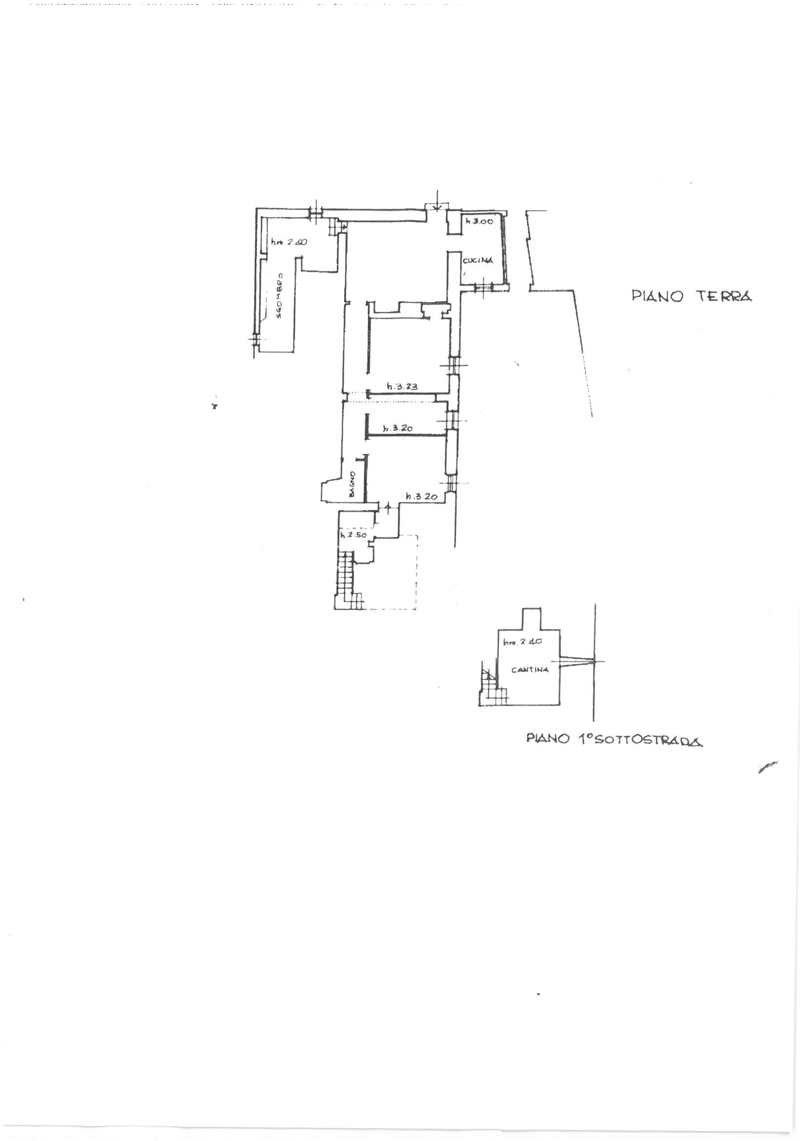 Planimetria 1/1 per rif. 1141
