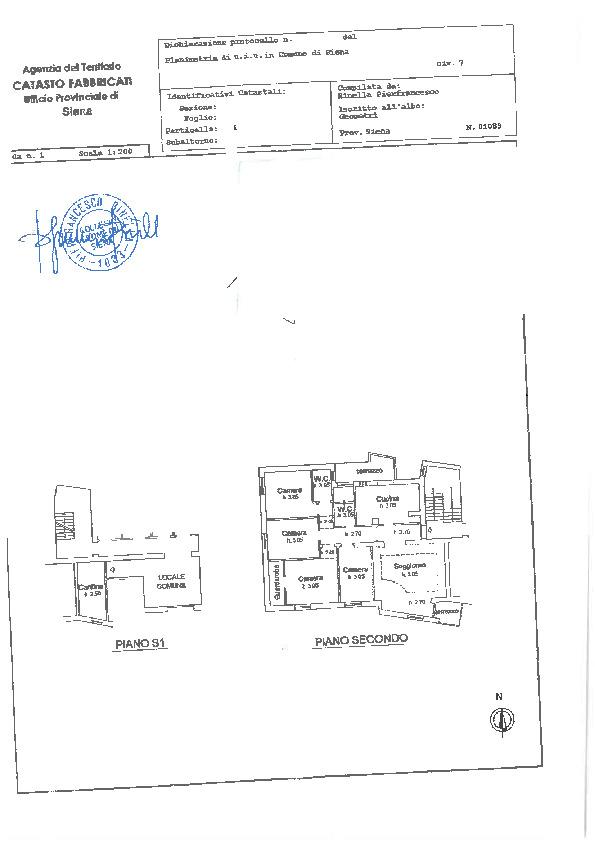 Planimetria 1/1 per rif. 202