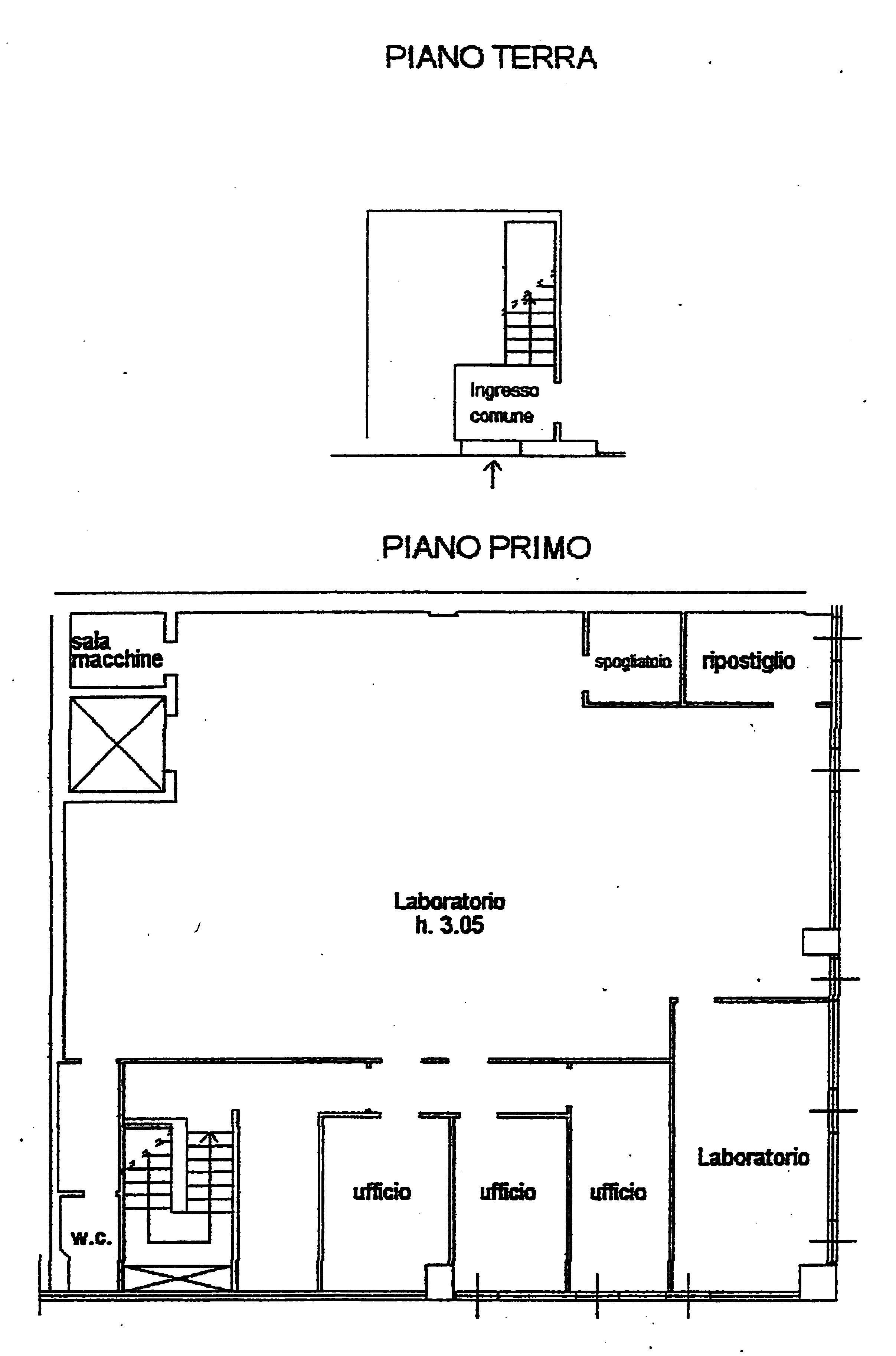 Planimetria 1/1 per rif. A113
