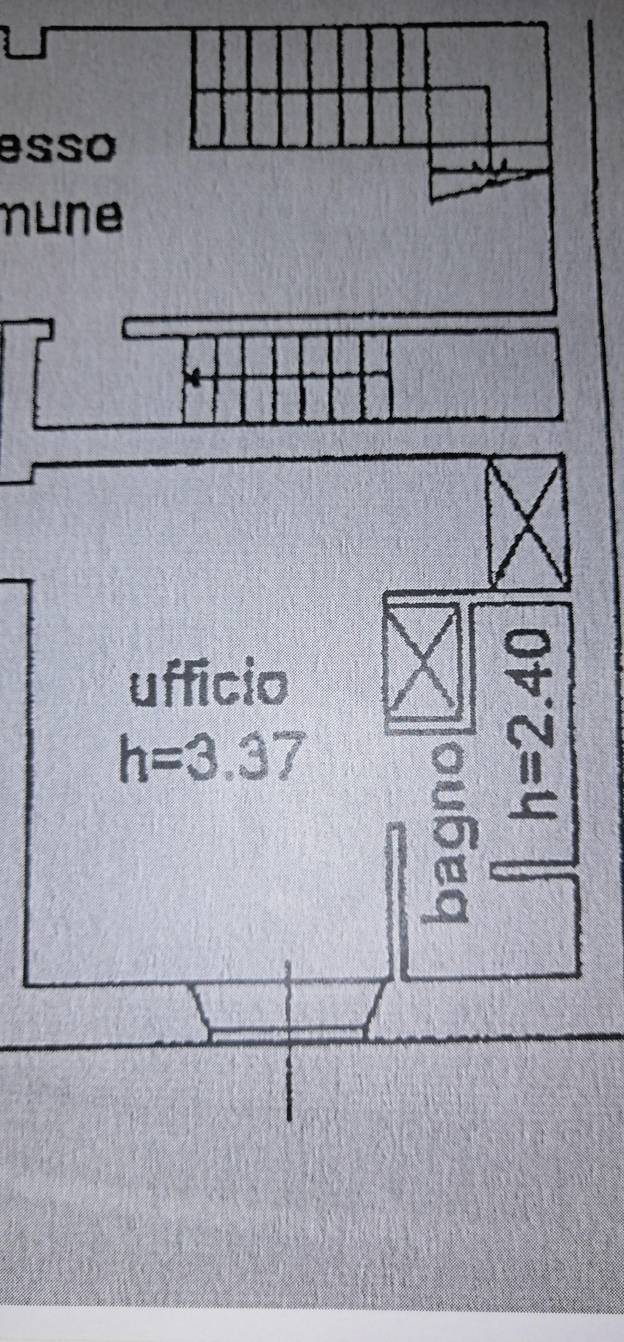 Planimetria 1/1 per rif. A119