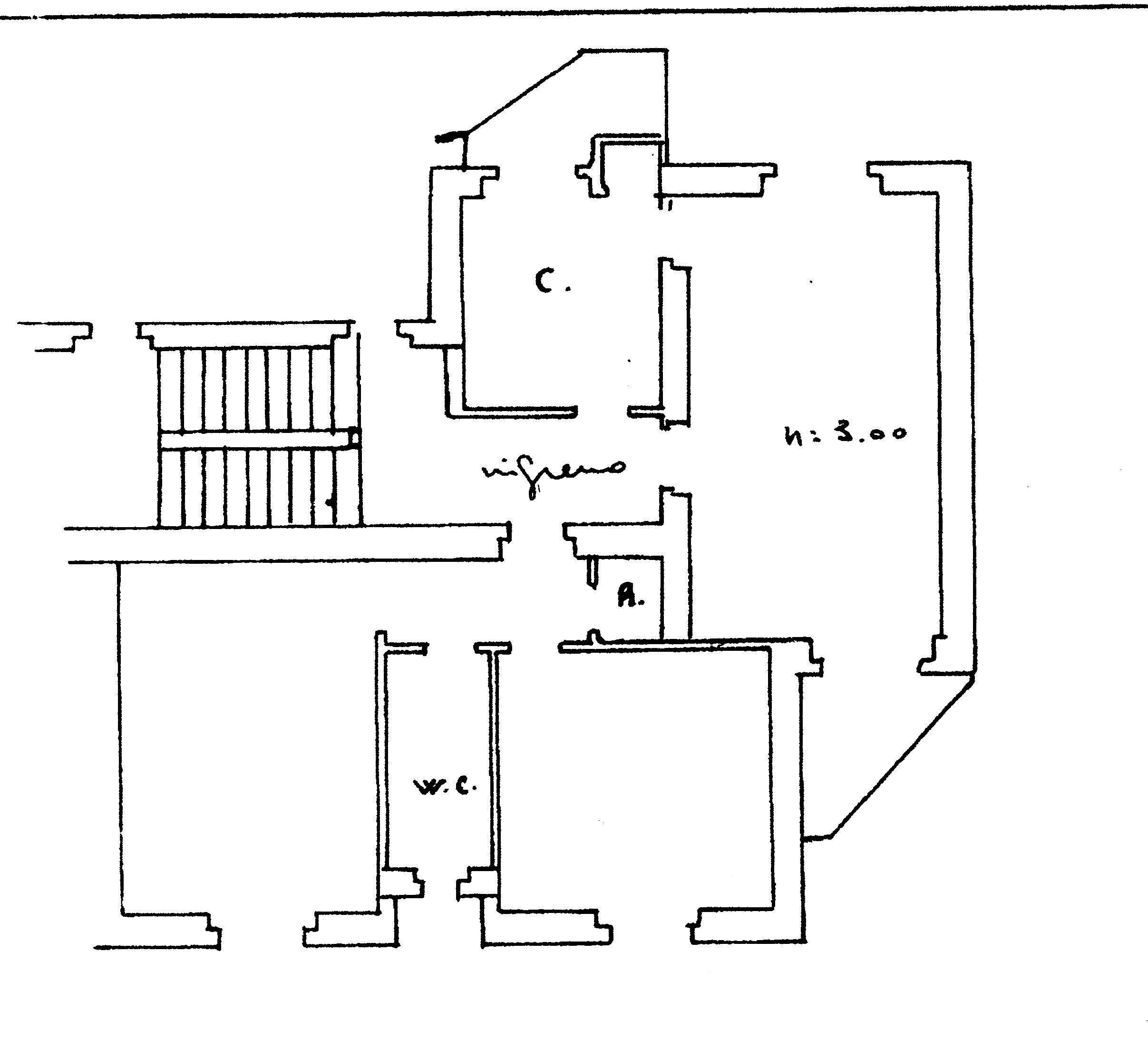 Planimetria 1/1 per rif. A143