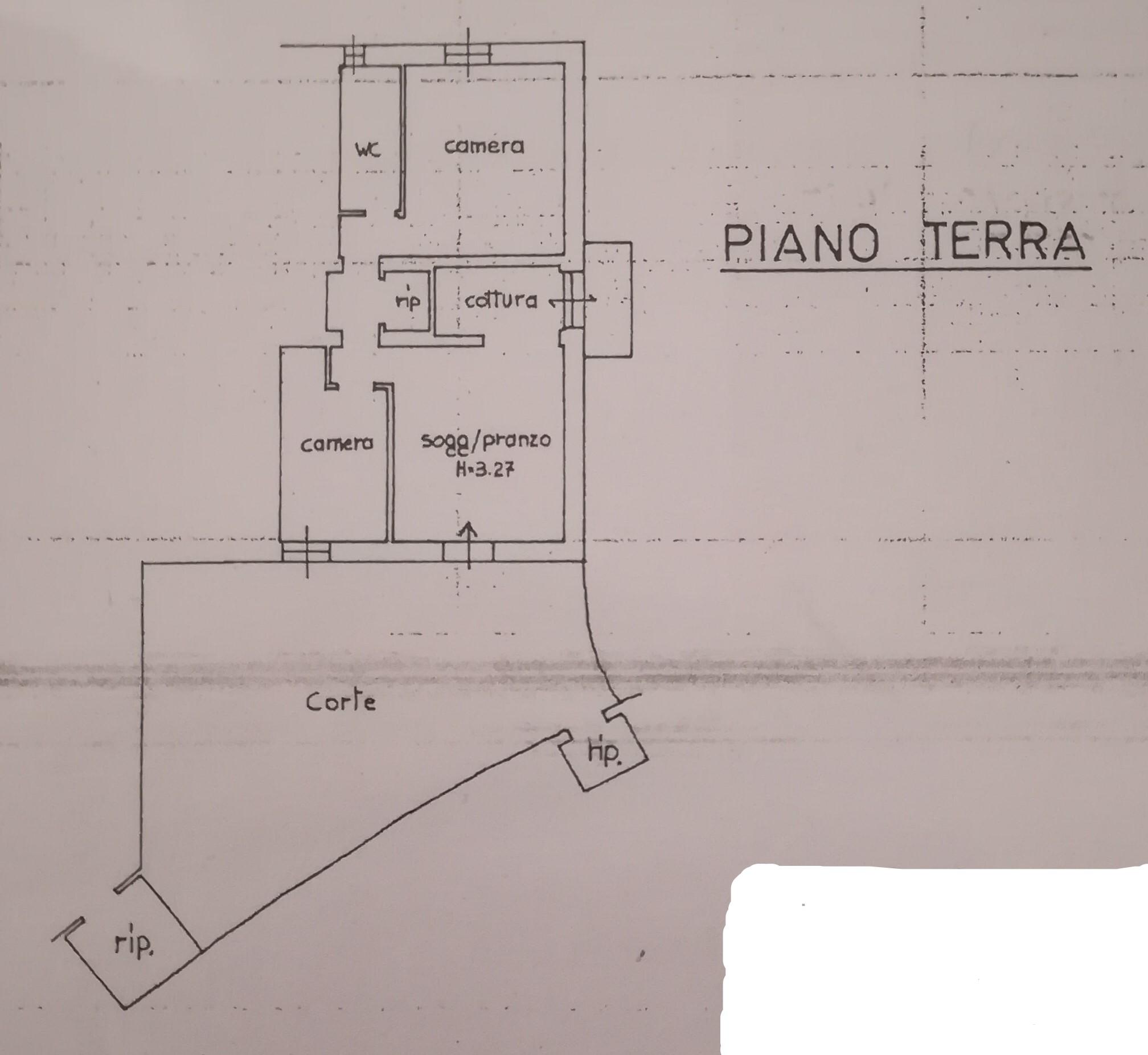 Planimetria 1/1 per rif. A148