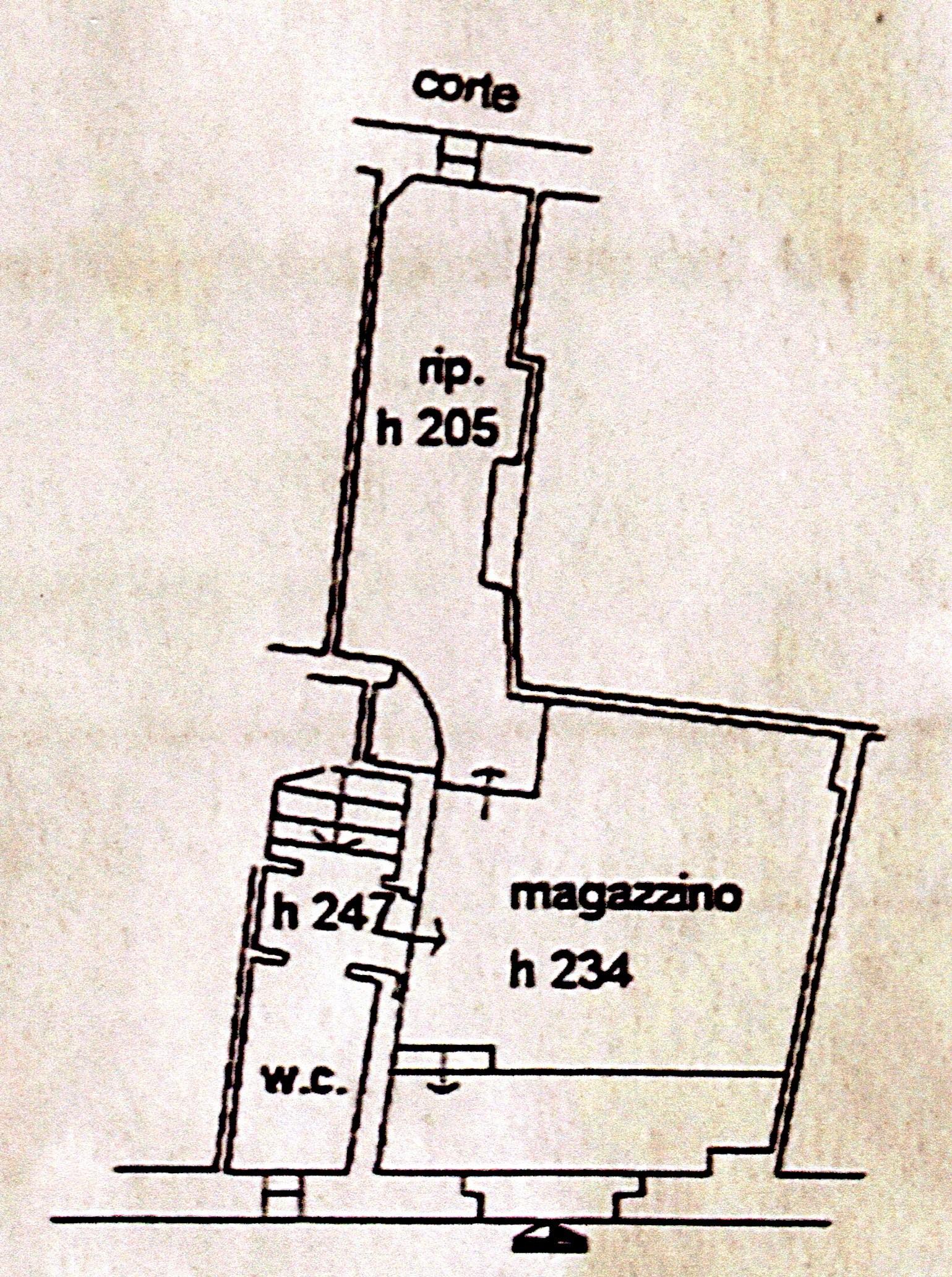 Planimetria 1/1 per rif. A102