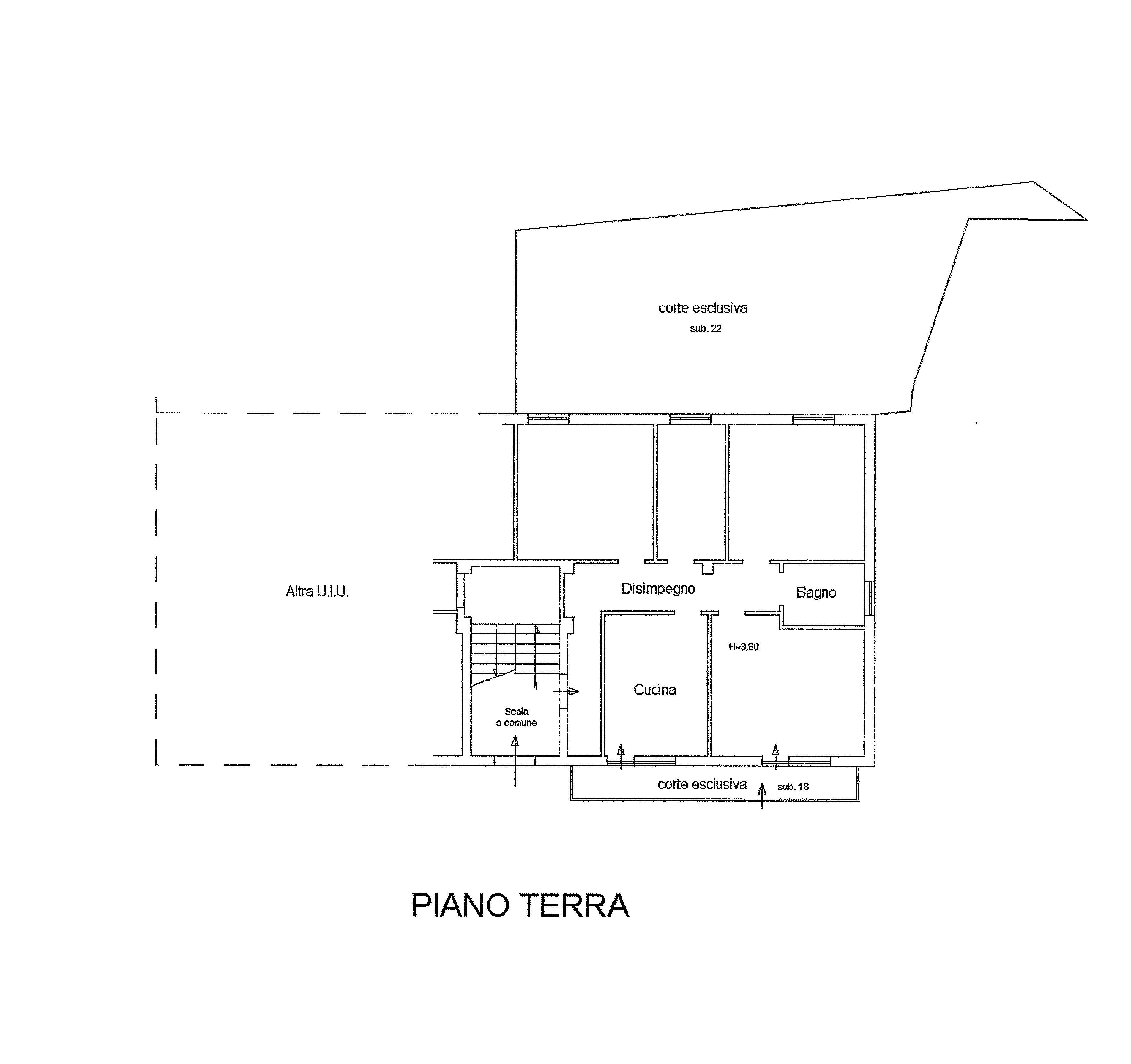 Planimetria 1/1 per rif. R339
