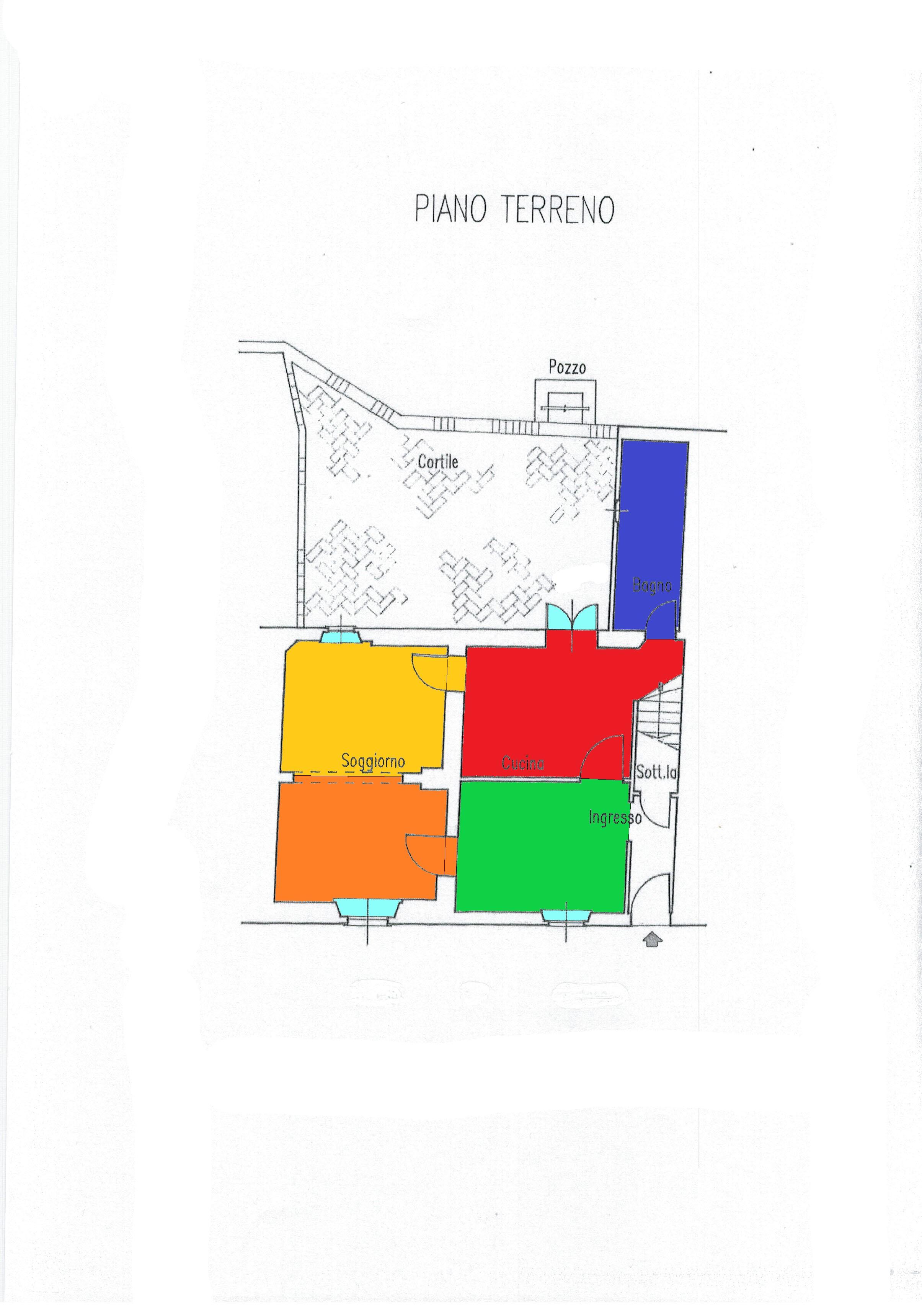 Planimetria 2/2 per rif. A109