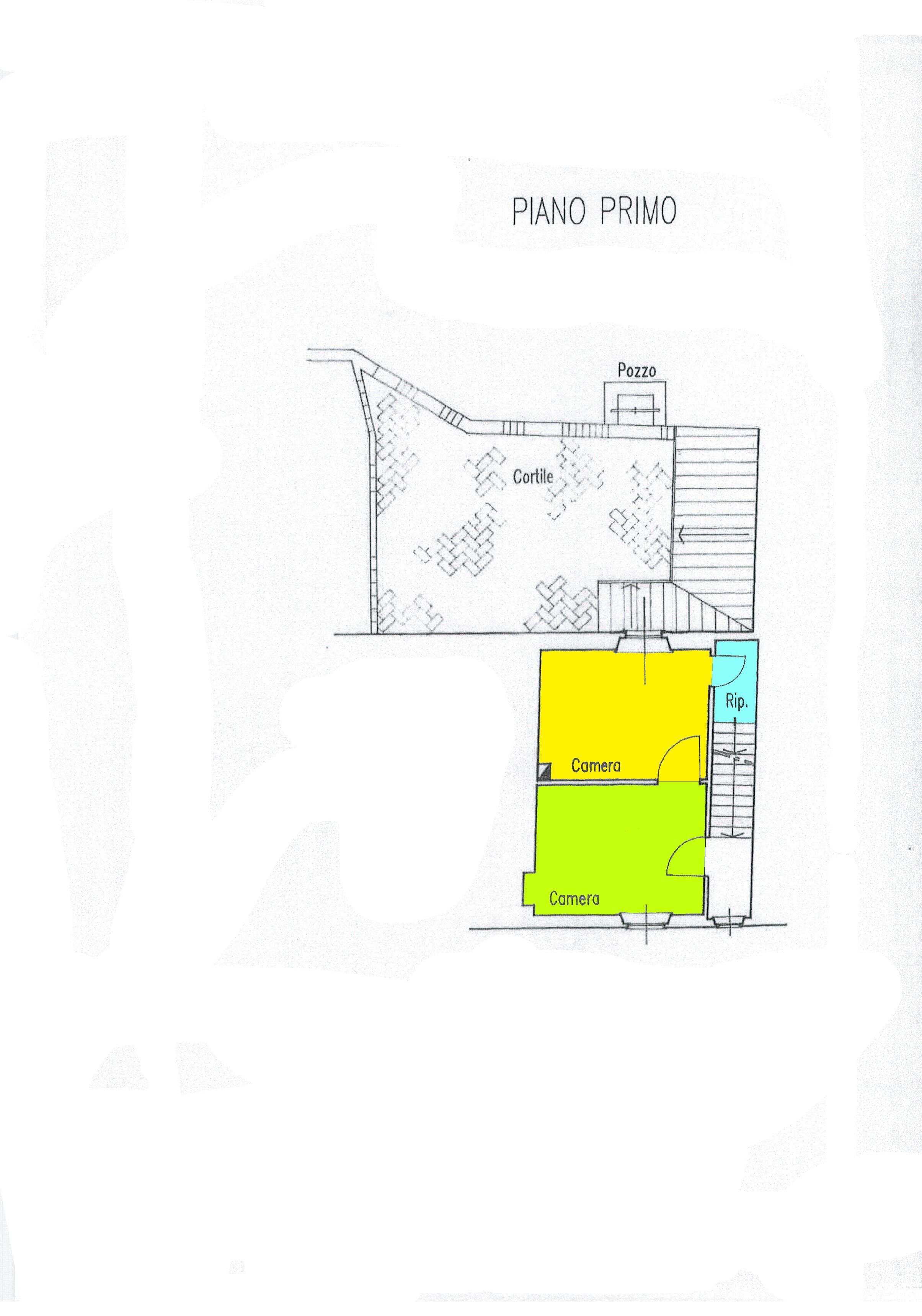 Planimetria 1/2 per rif. A109
