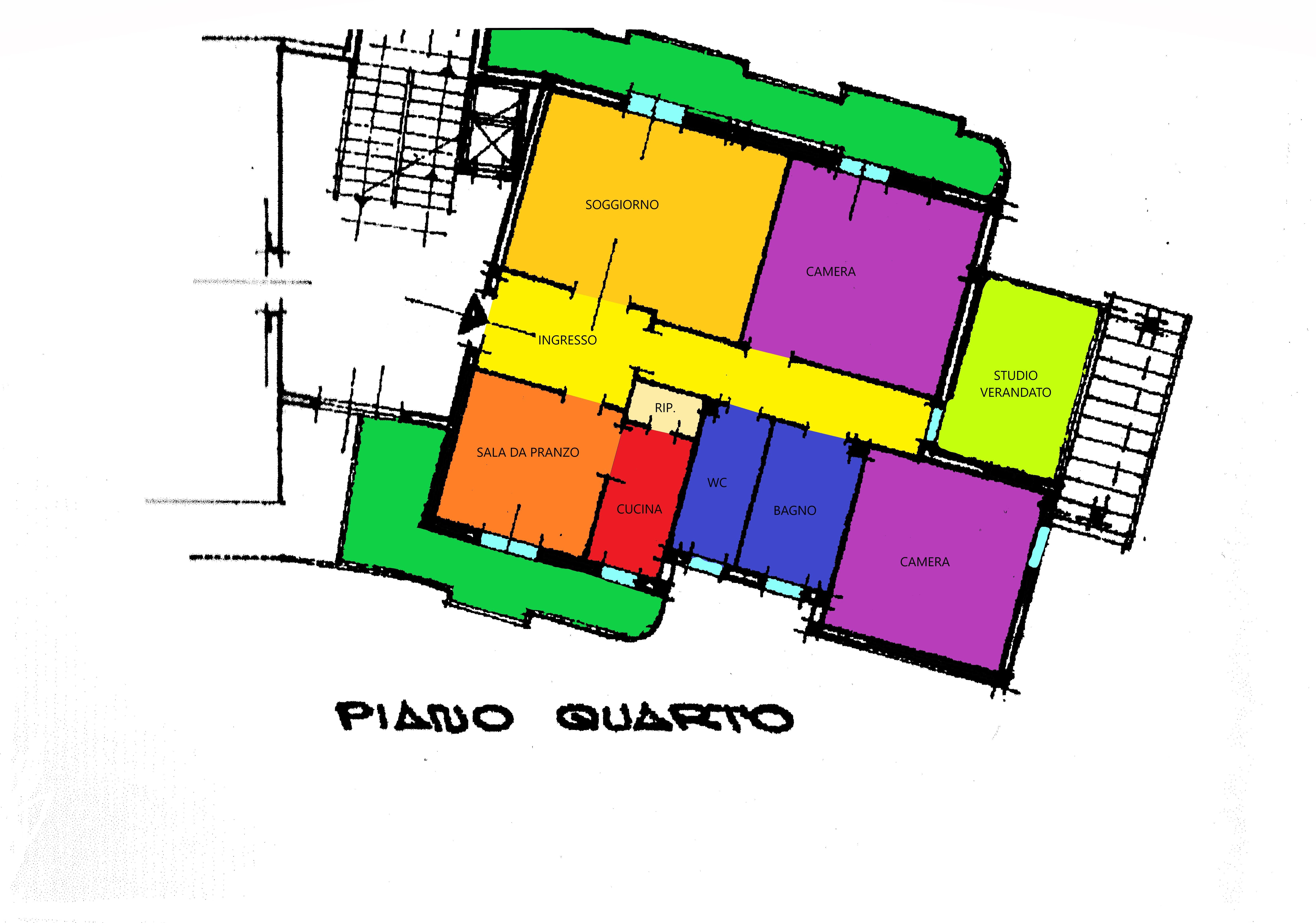Planimetria 1/1 per rif. A118