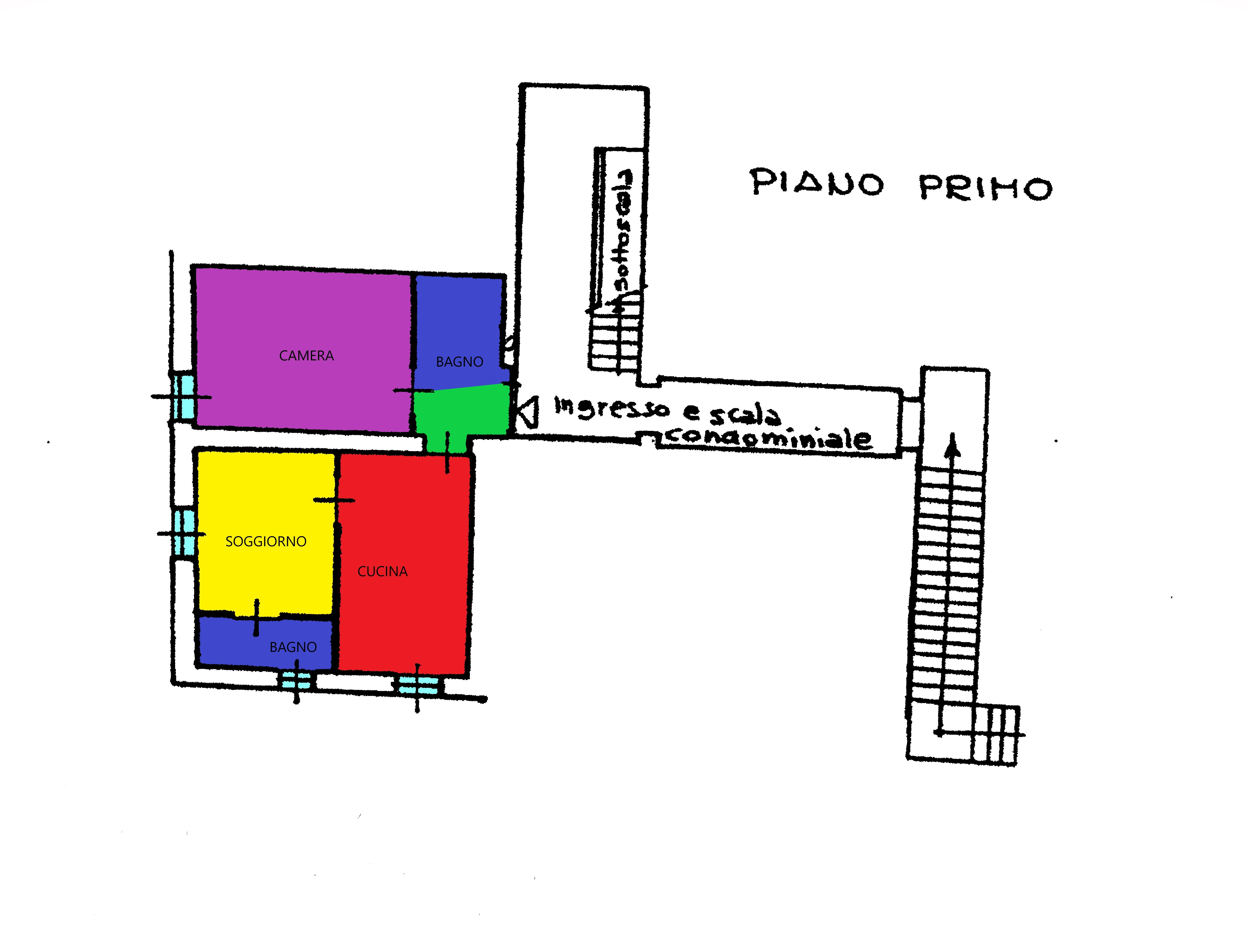 Planimetria 1/1 per rif. A122