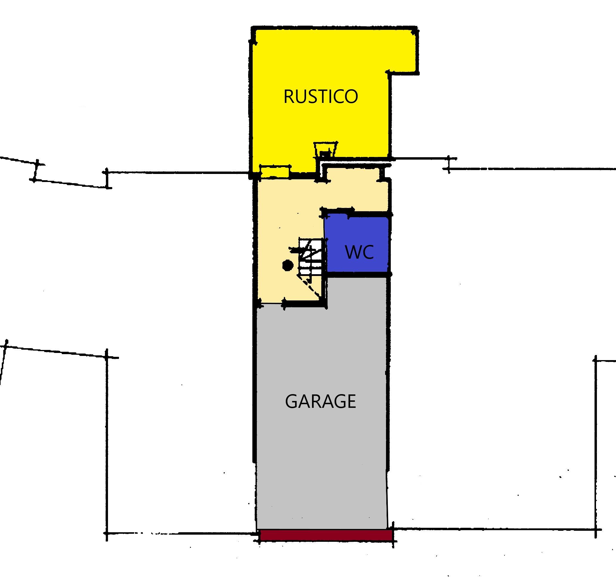 Planimetria 2/2 per rif. A379