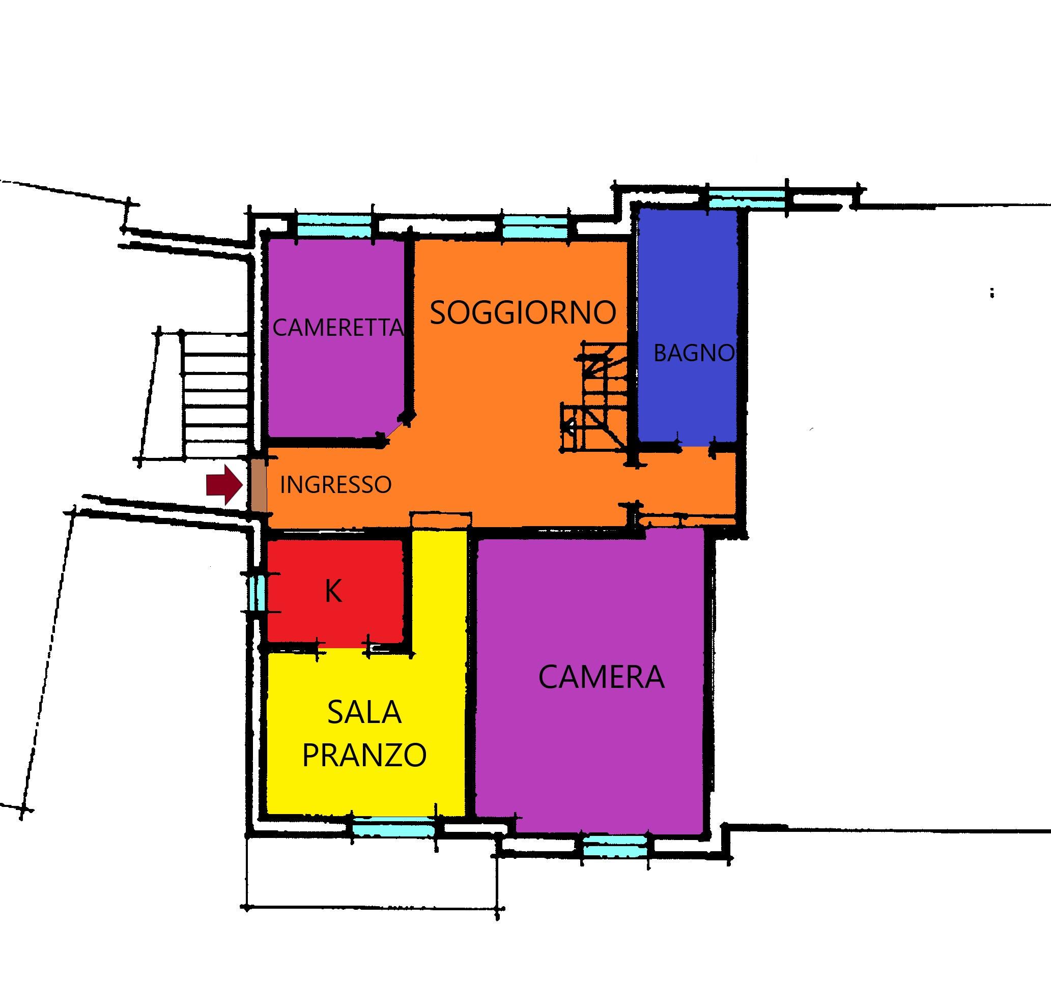 Planimetria 1/2 per rif. A379