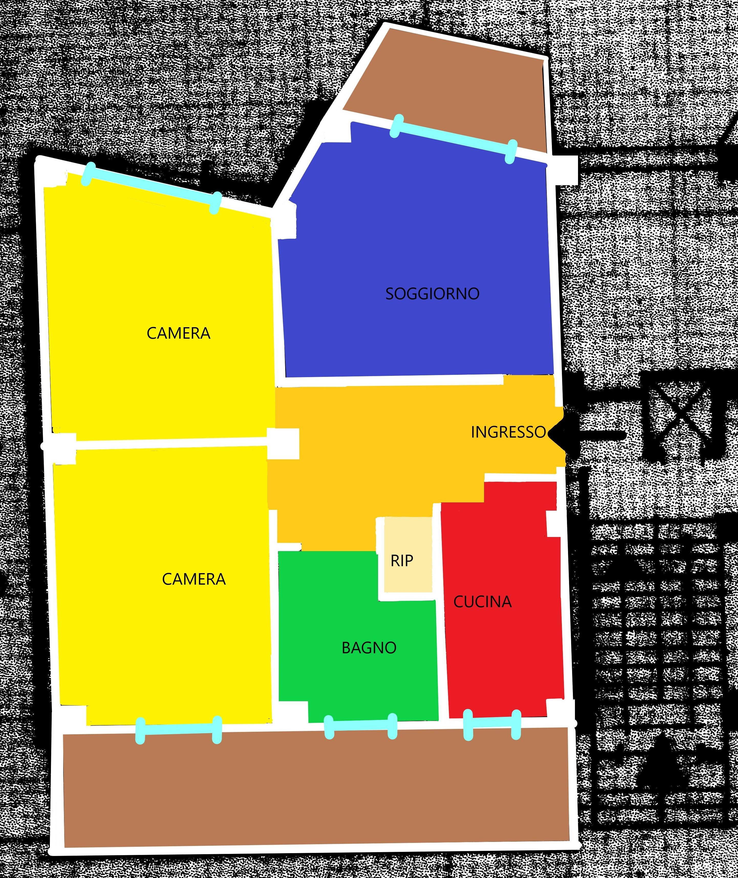 Planimetria 1/1 per rif. A126