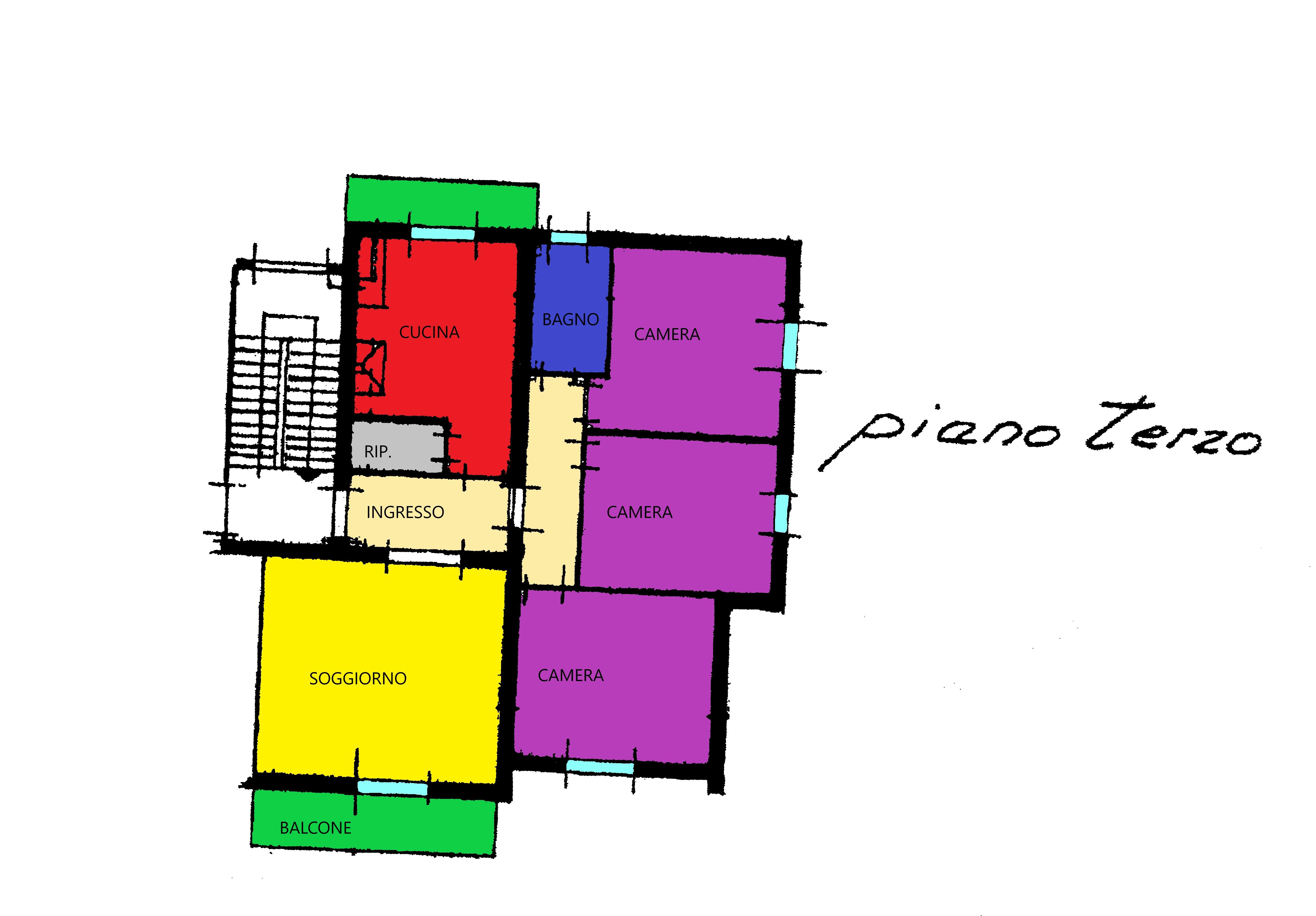 Planimetria 1/1 per rif. R305