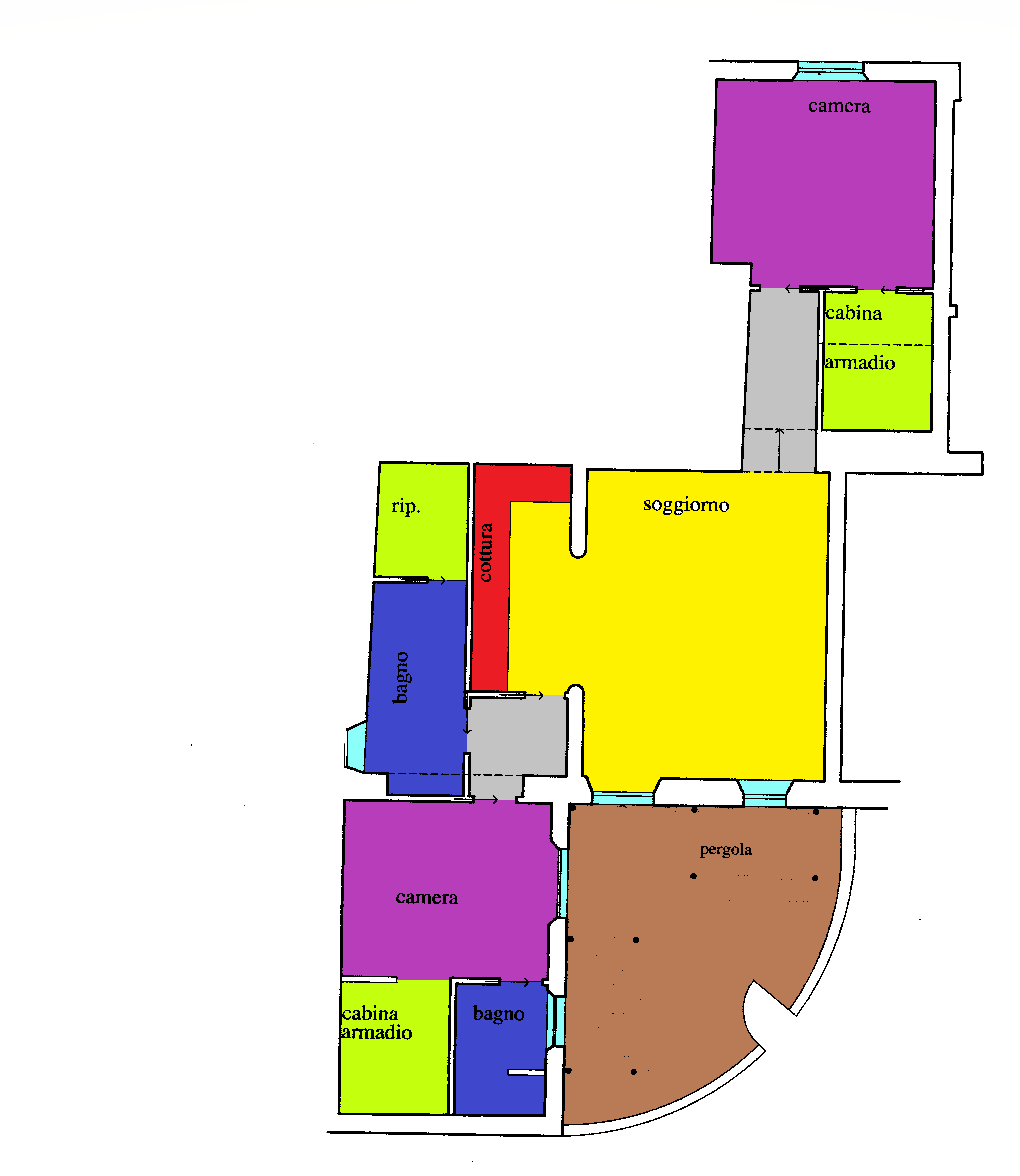 Planimetria 1/1 per rif. A114