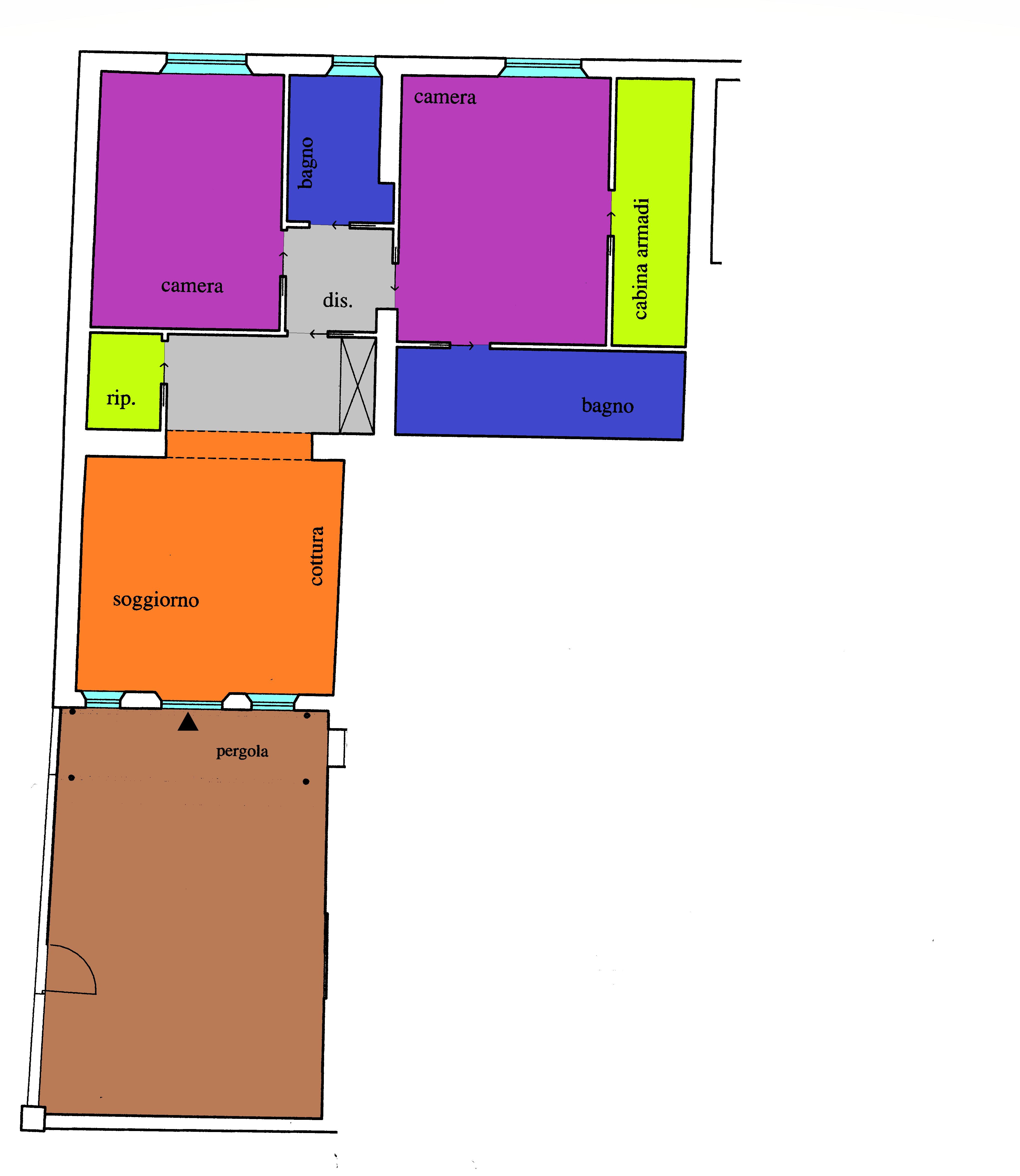 Planimetria 1/1 per rif. A115
