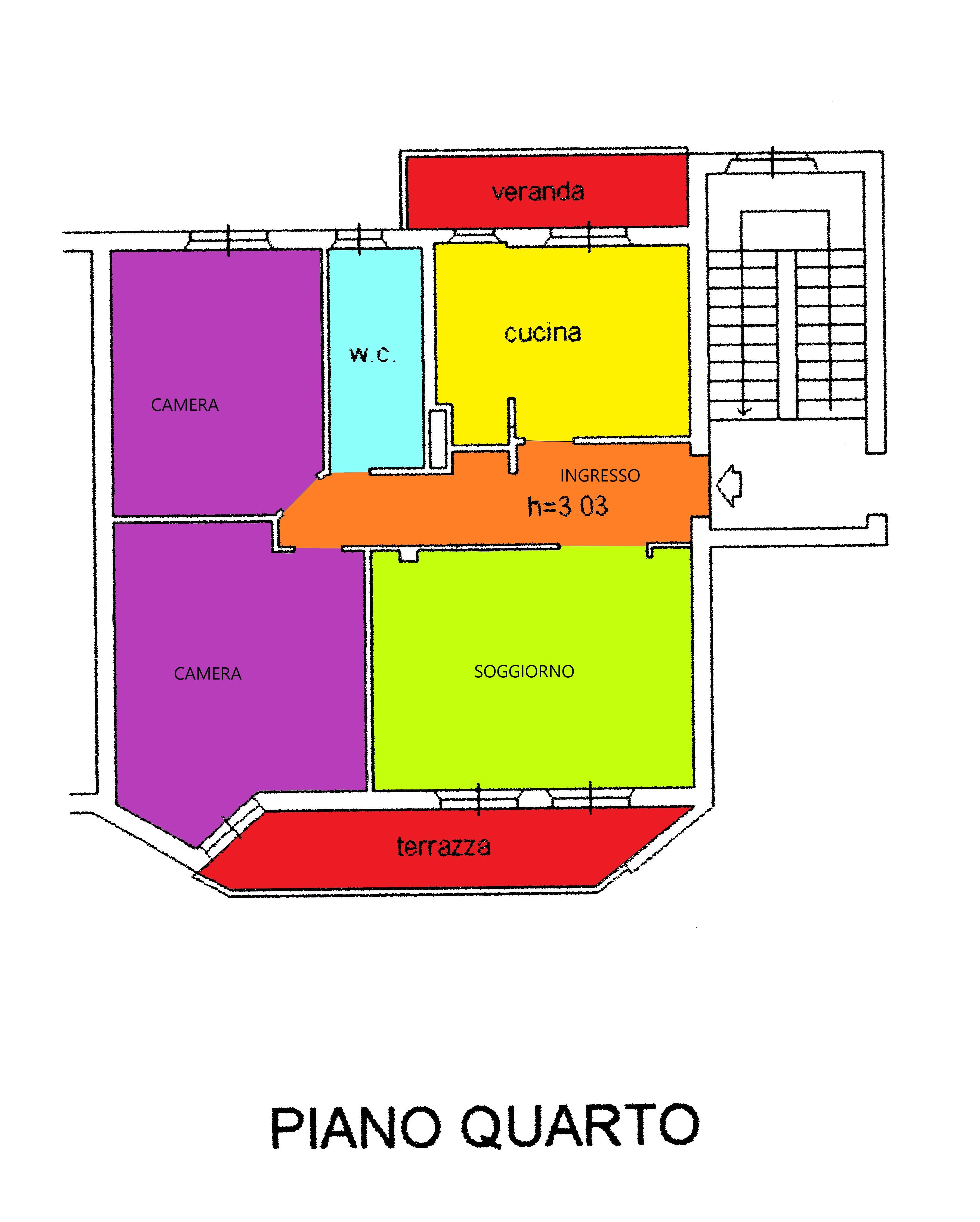 Planimetria 1/1 per rif. A382