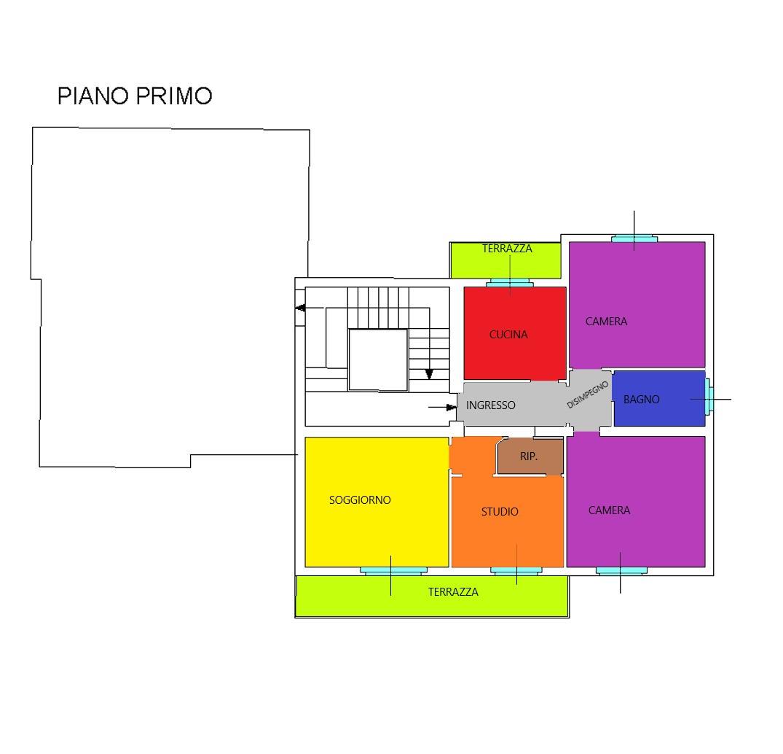 Planimetria 1/1 per rif. A375
