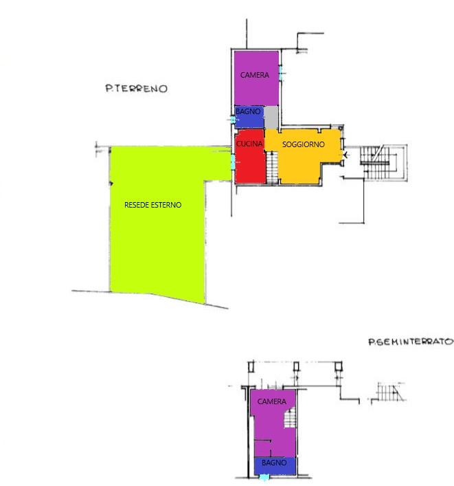 Planimetria 1/1 per rif. A110