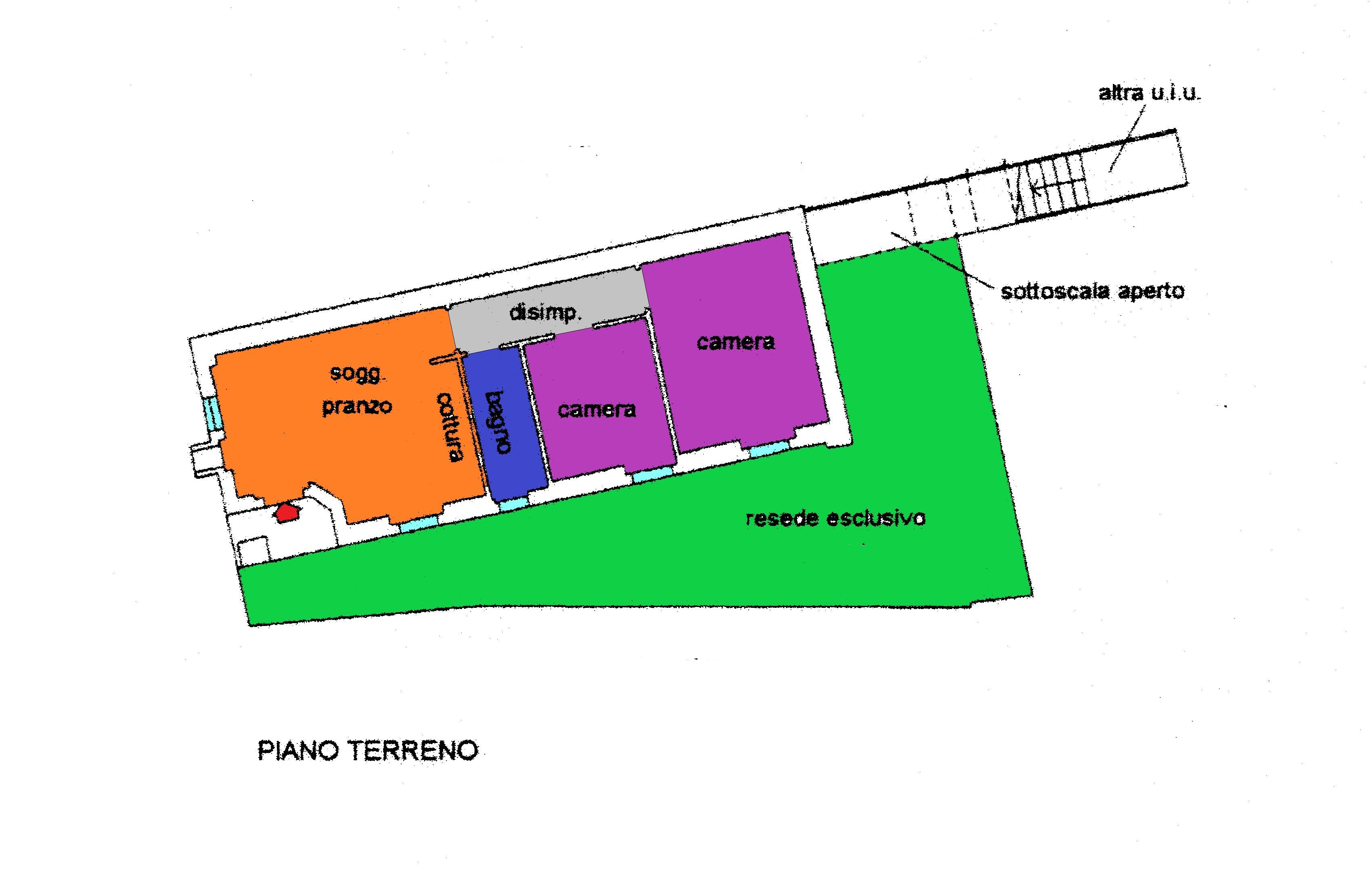 Planimetria 1/1 per rif. R311