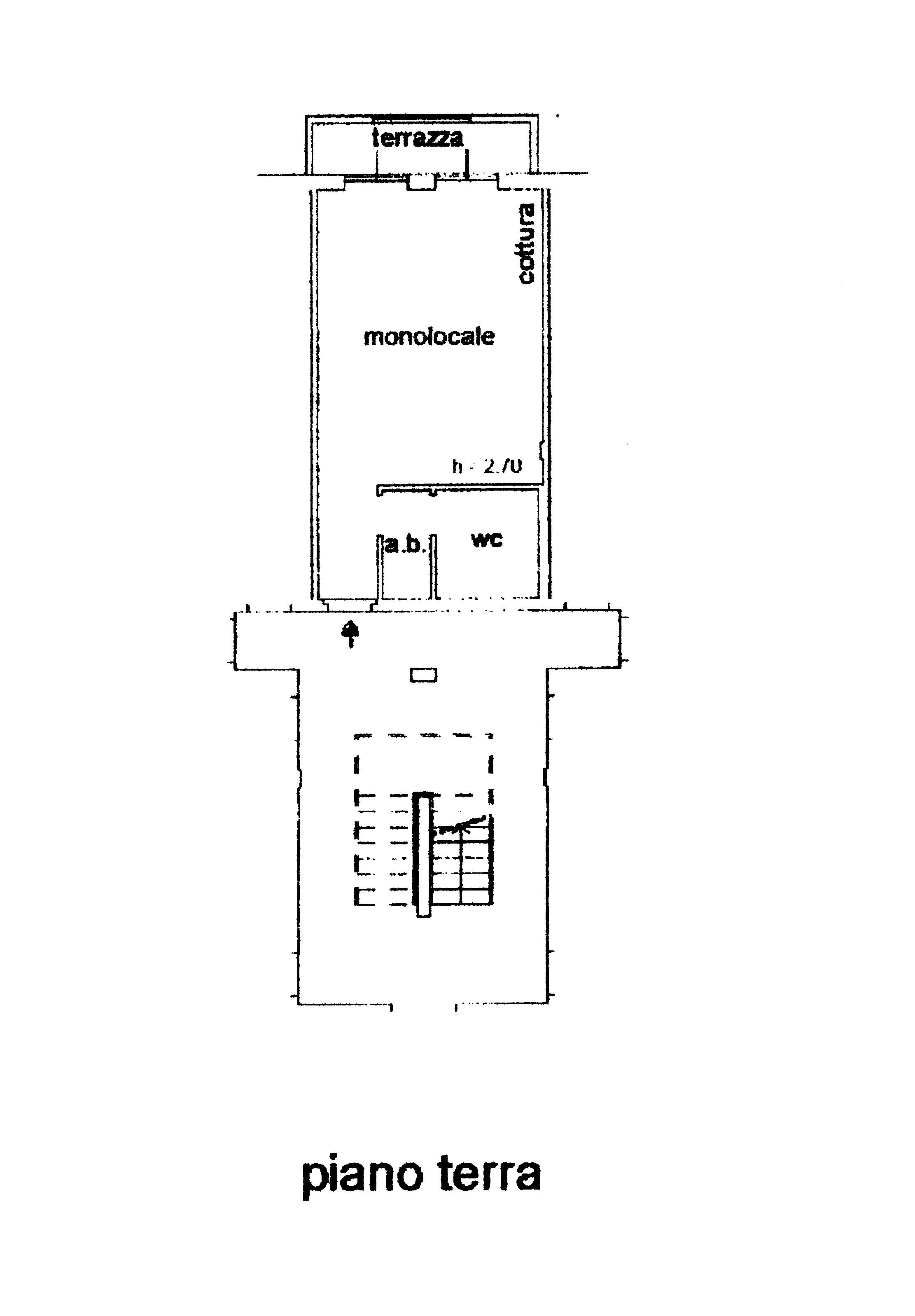 Planimetria 1/1 per rif. A106