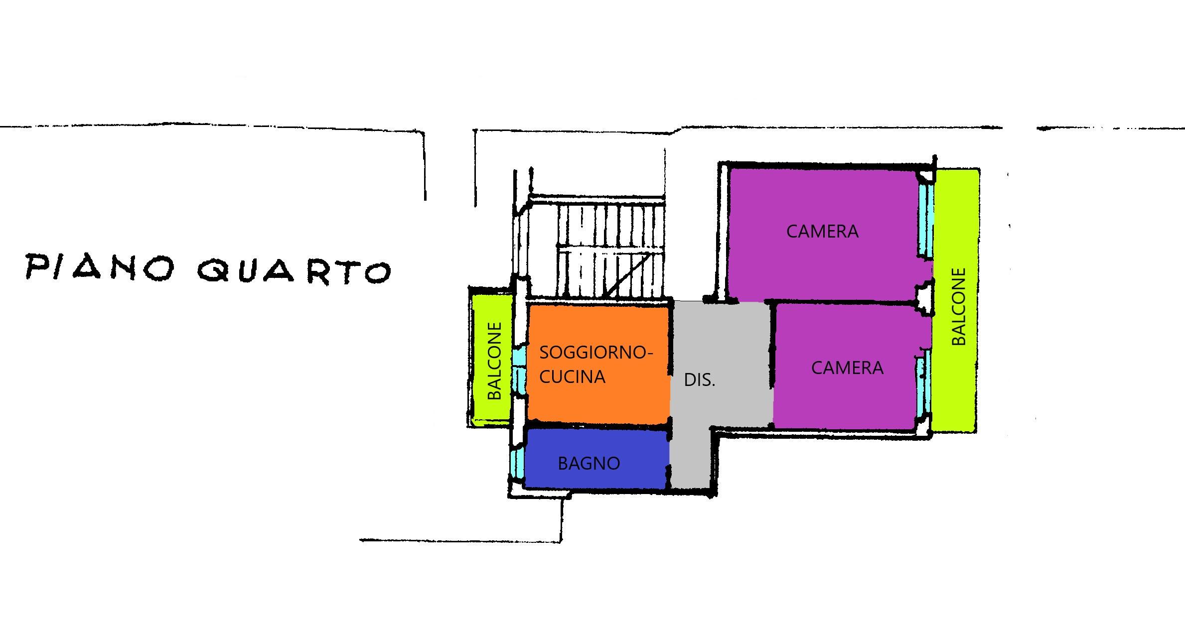 Planimetria 1/1 per rif. A384