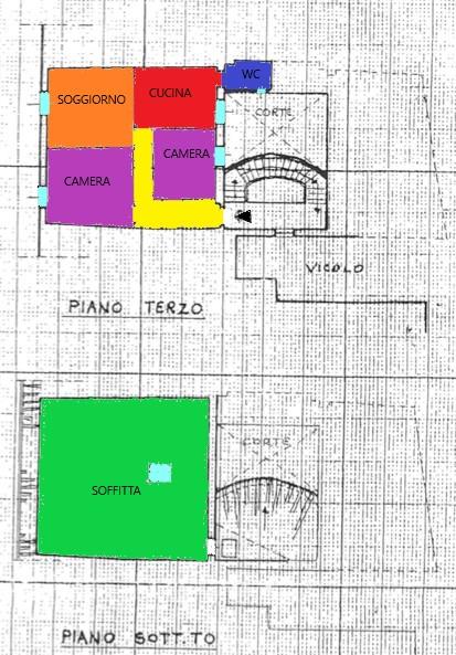 Planimetria 1/1 per rif. A388