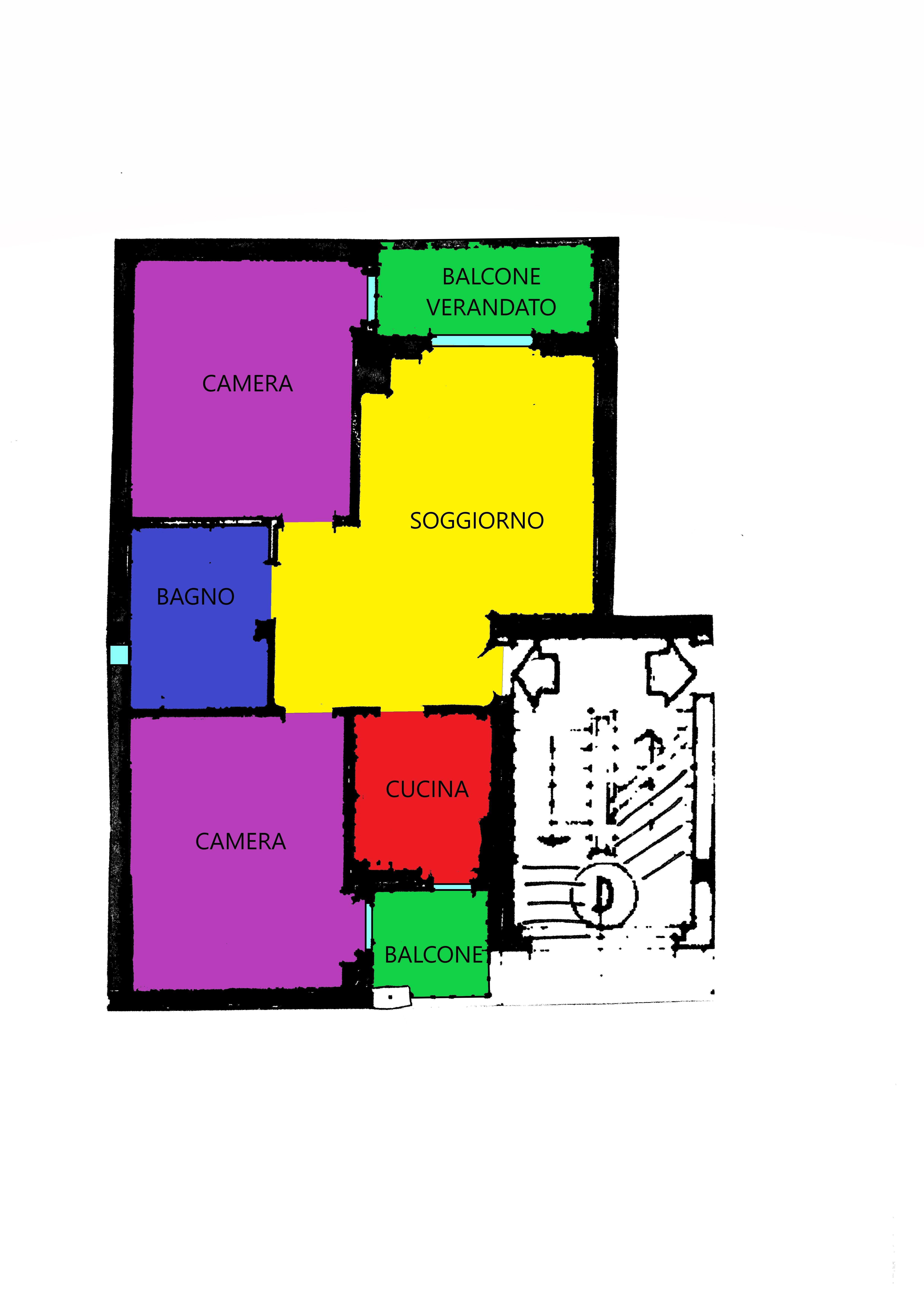 Planimetria 1/1 per rif. A394