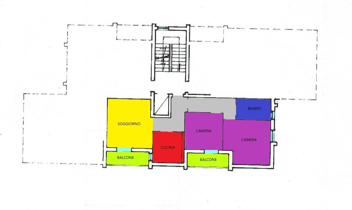 Planimetria 1/1 per rif. A35