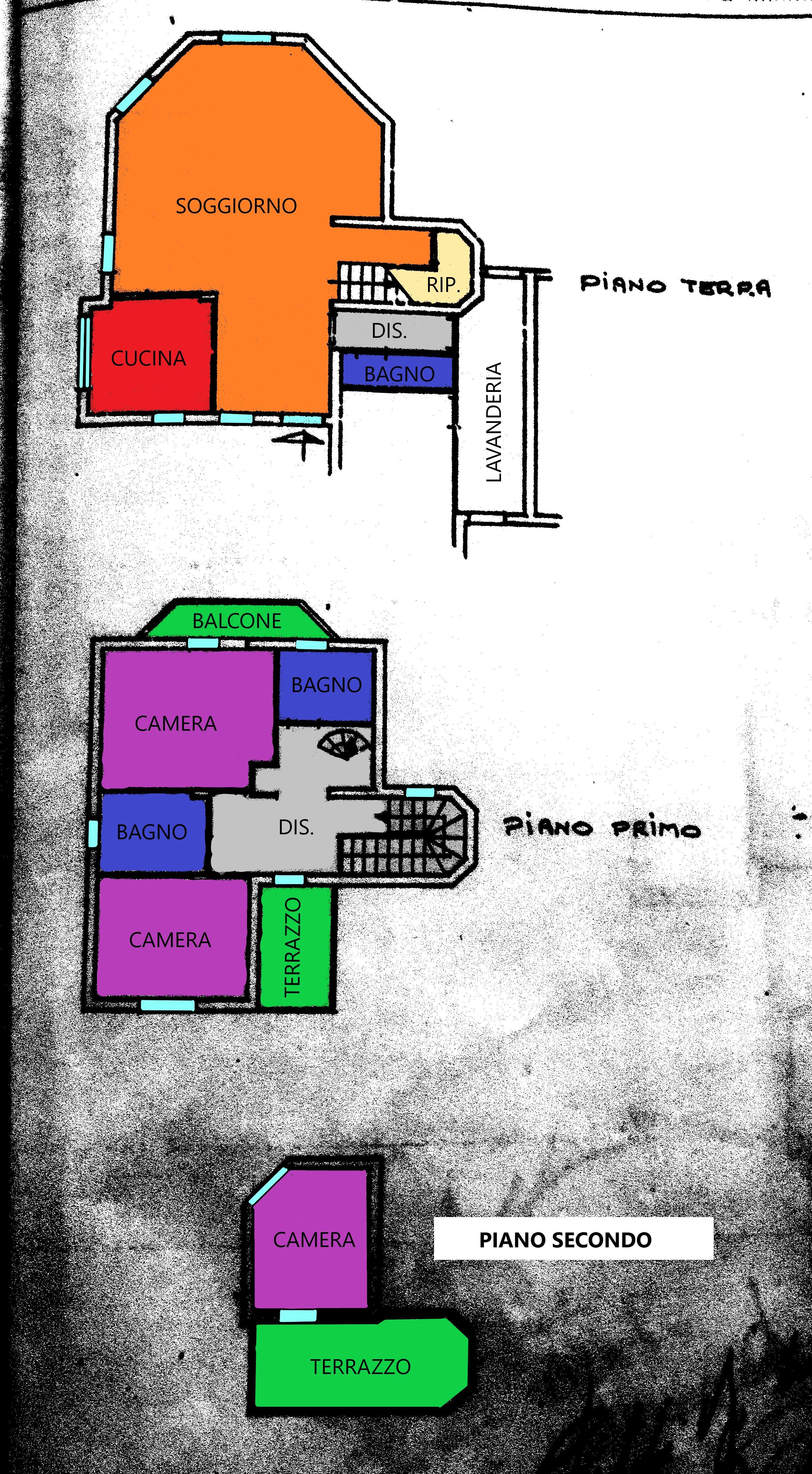 Planimetria 1/1 per rif. R279