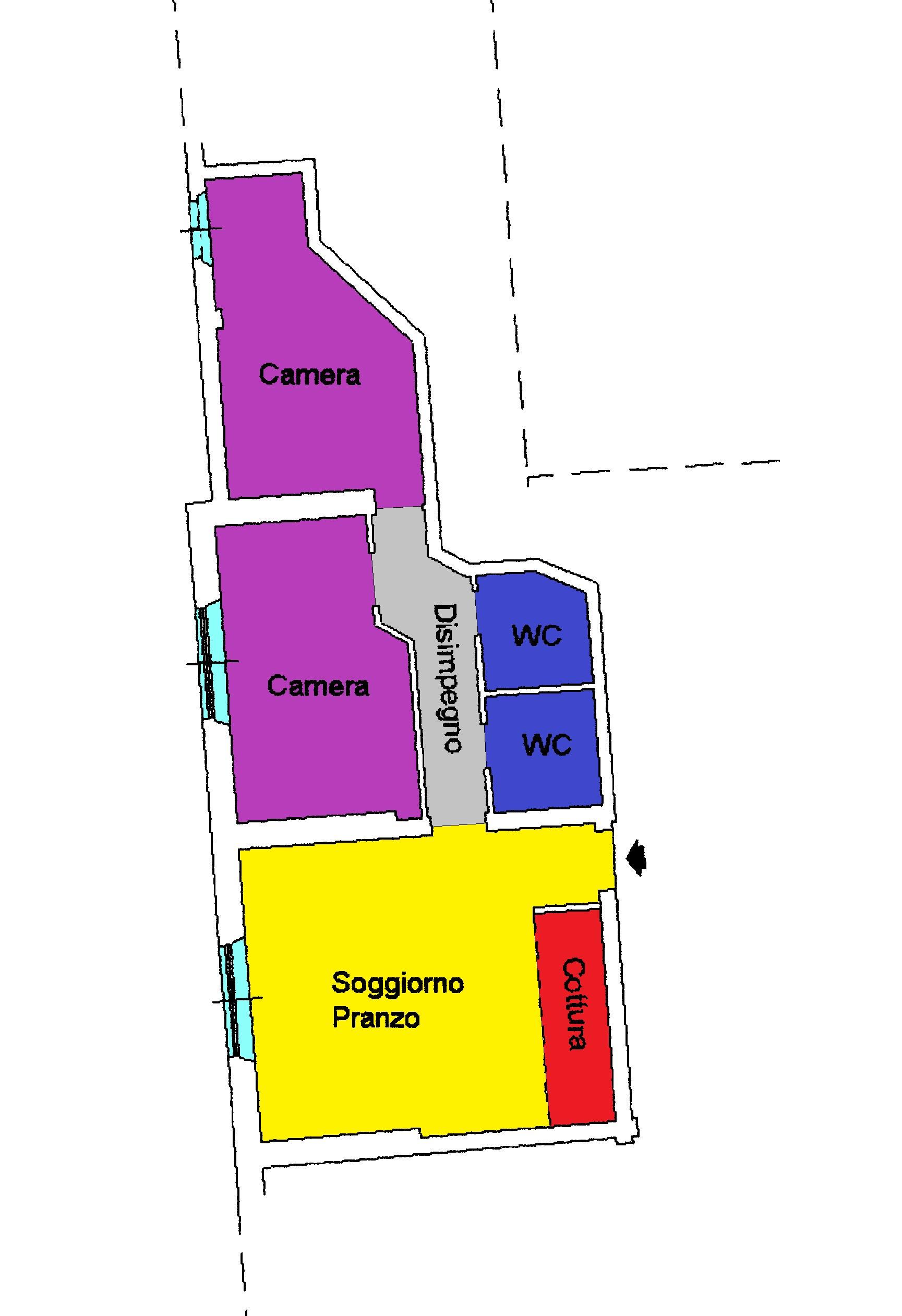 Planimetria 1/1 per rif. A117