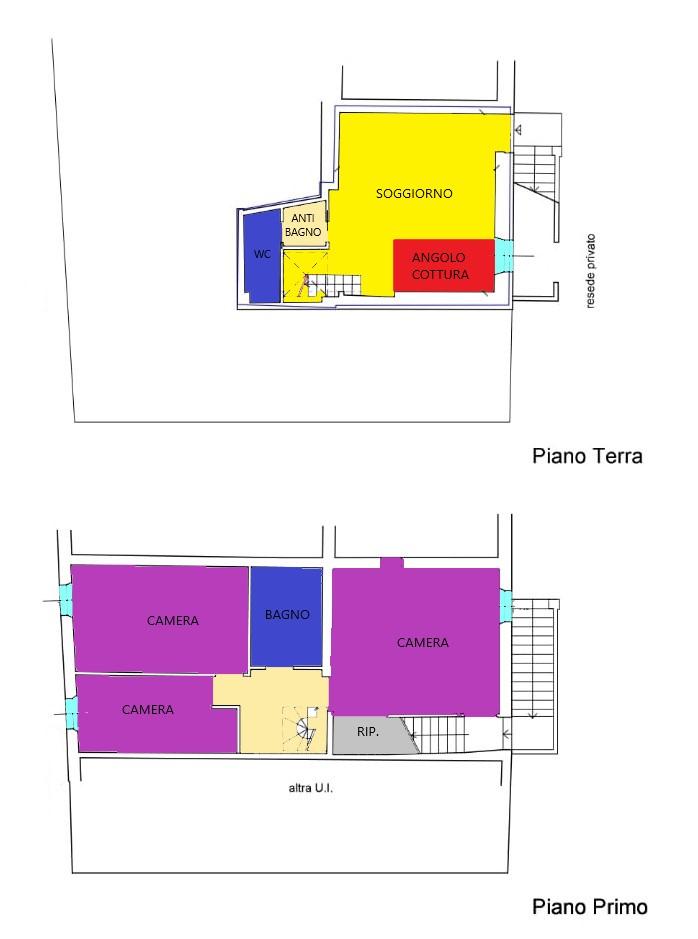 Planimetria 1/1 per rif. R262