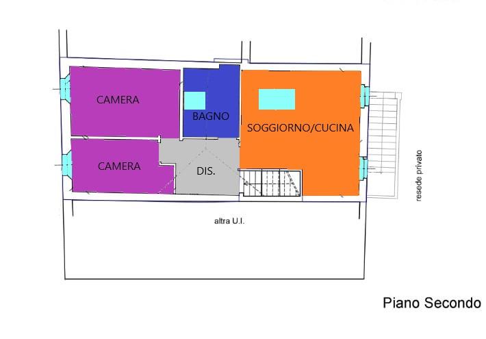 Planimetria 1/1 per rif. R262A