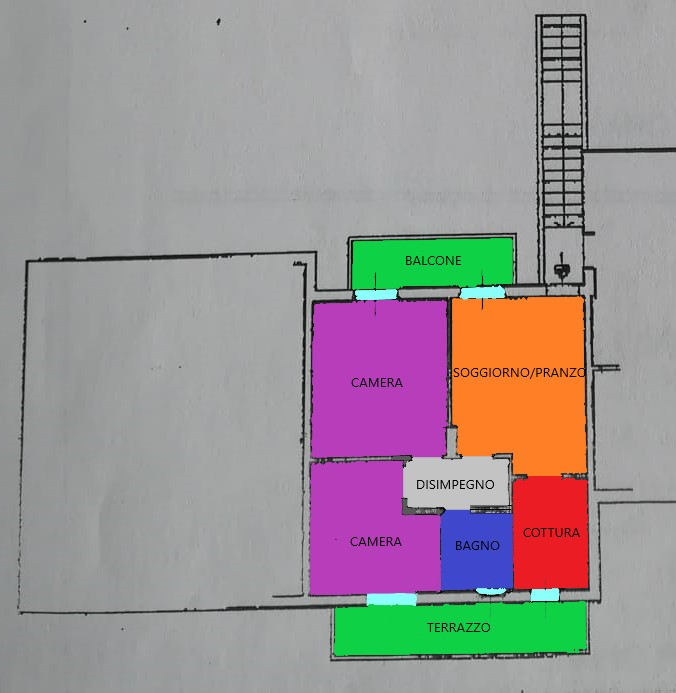 Planimetria 1/1 per rif. R266