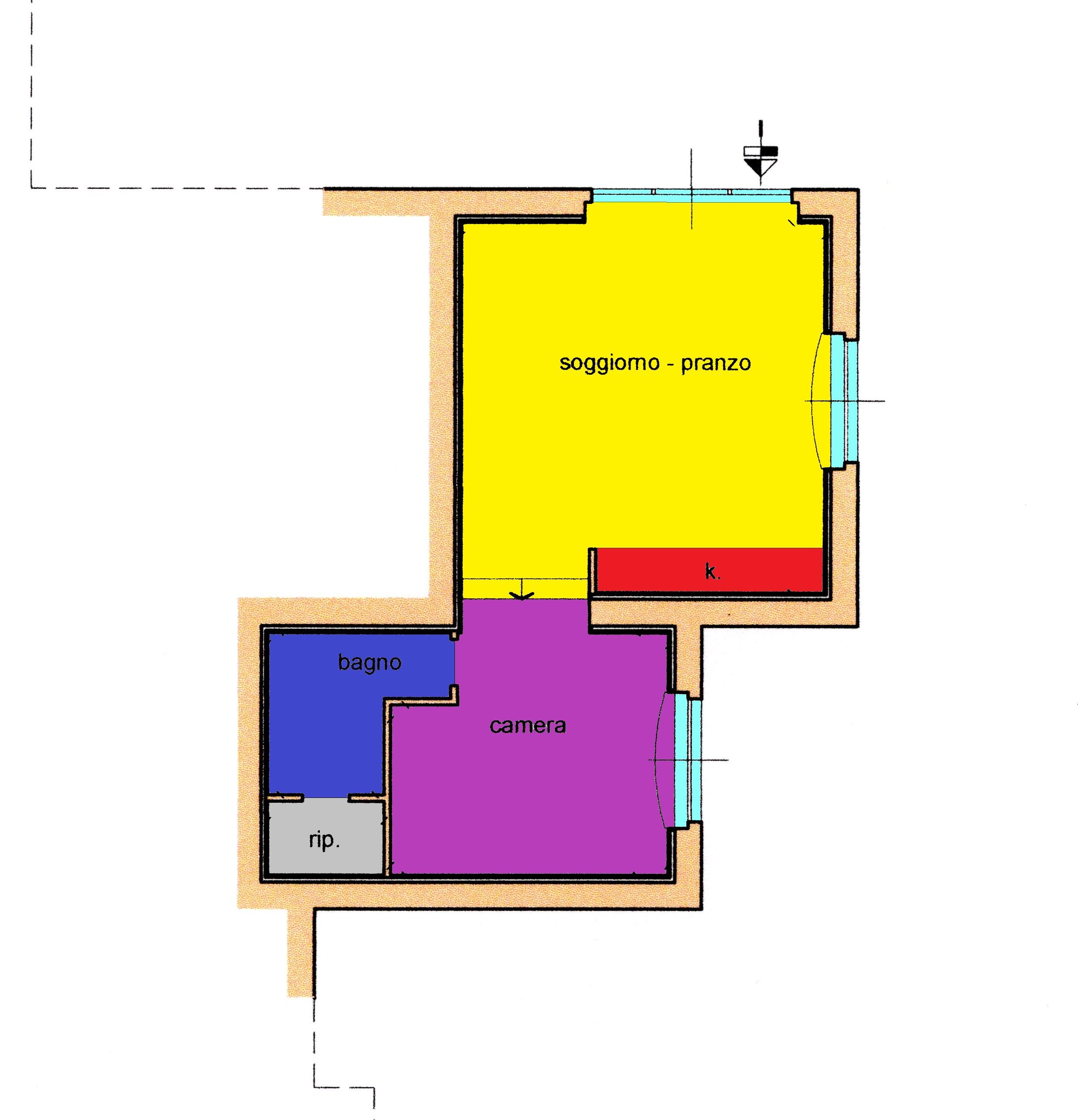 Planimetria 1/1 per rif. A217