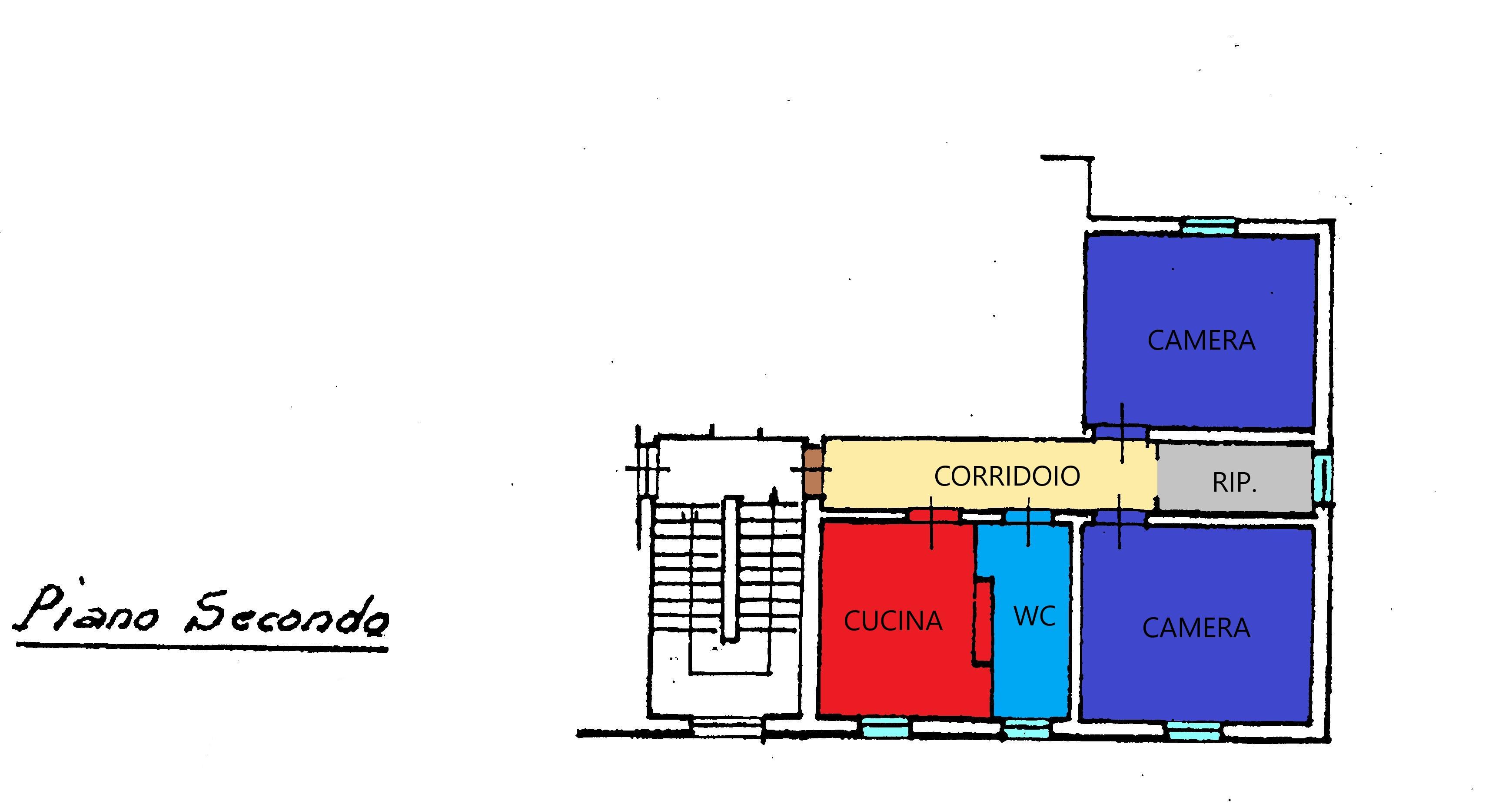 Planimetria 1/1 per rif. R312