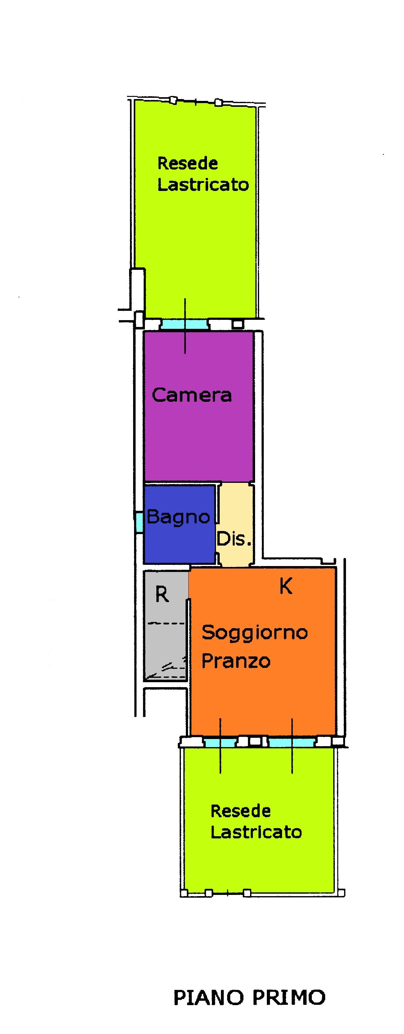 Planimetria 1/1 per rif. A391