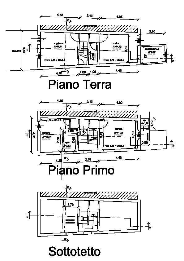 Planimetria /1 per rif. p487v